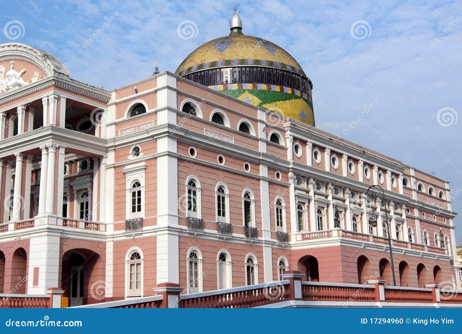 Manaus dziejowa domowa opera
