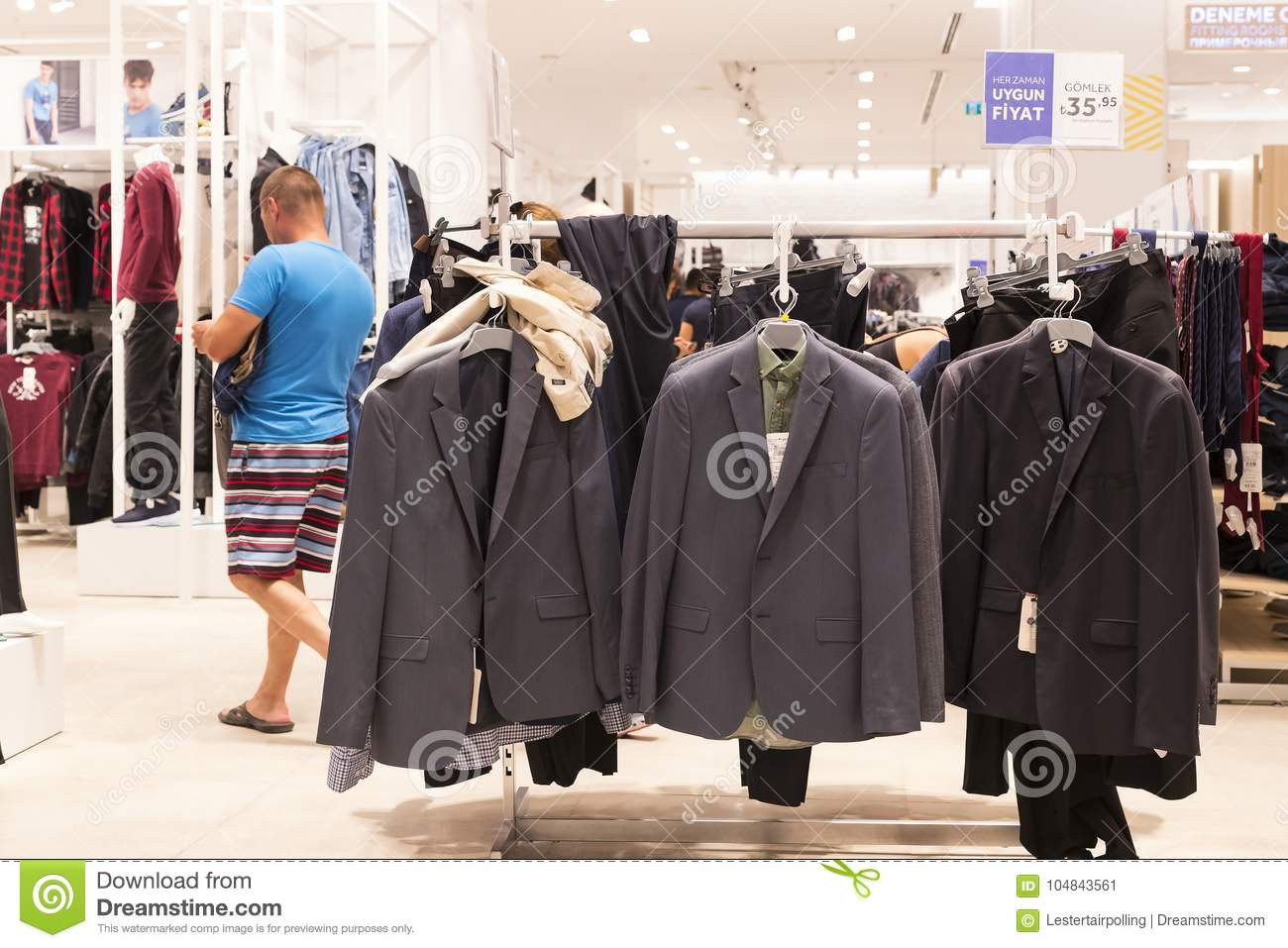 clothing store Adult
