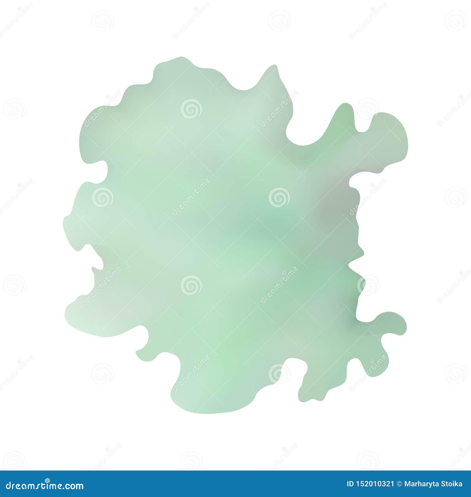 Mancha azul en colores pastel