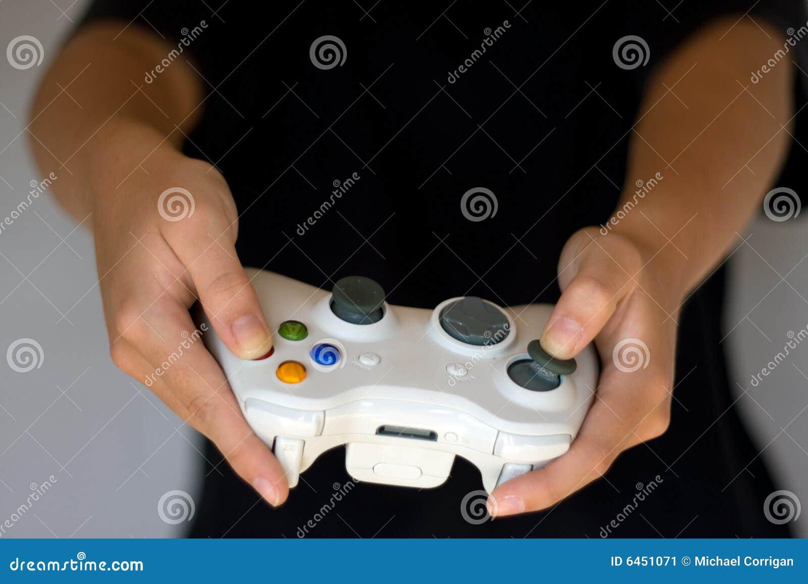 Manche de gamepad de console de jeu vidéo