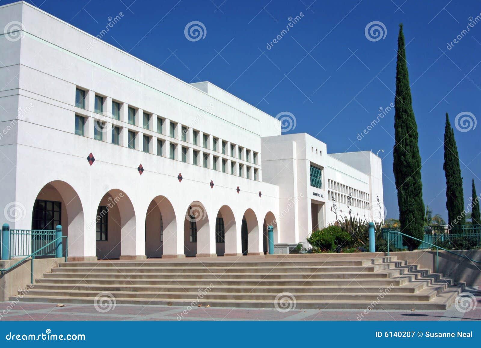 Manchester Pasillo en la universidad de estado de San Diego