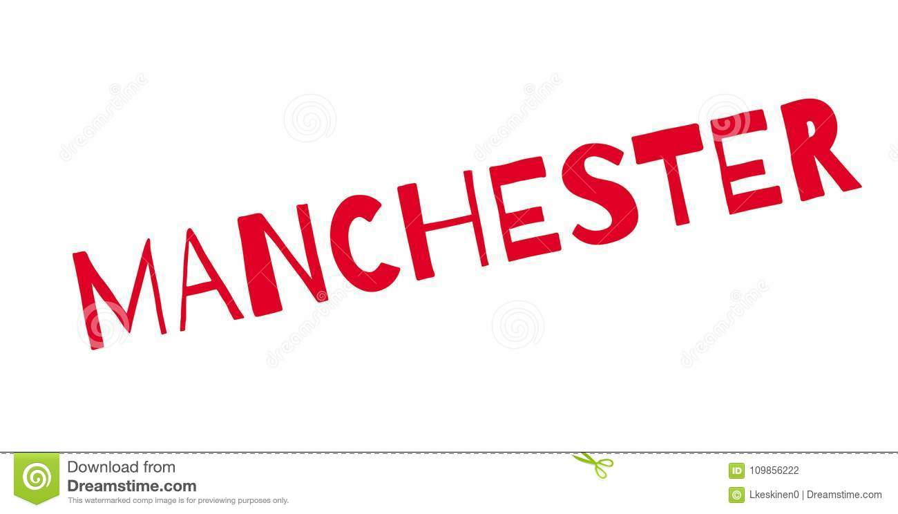 Manchester Rubber Stamp Stock Vector Illustration Of Isolated