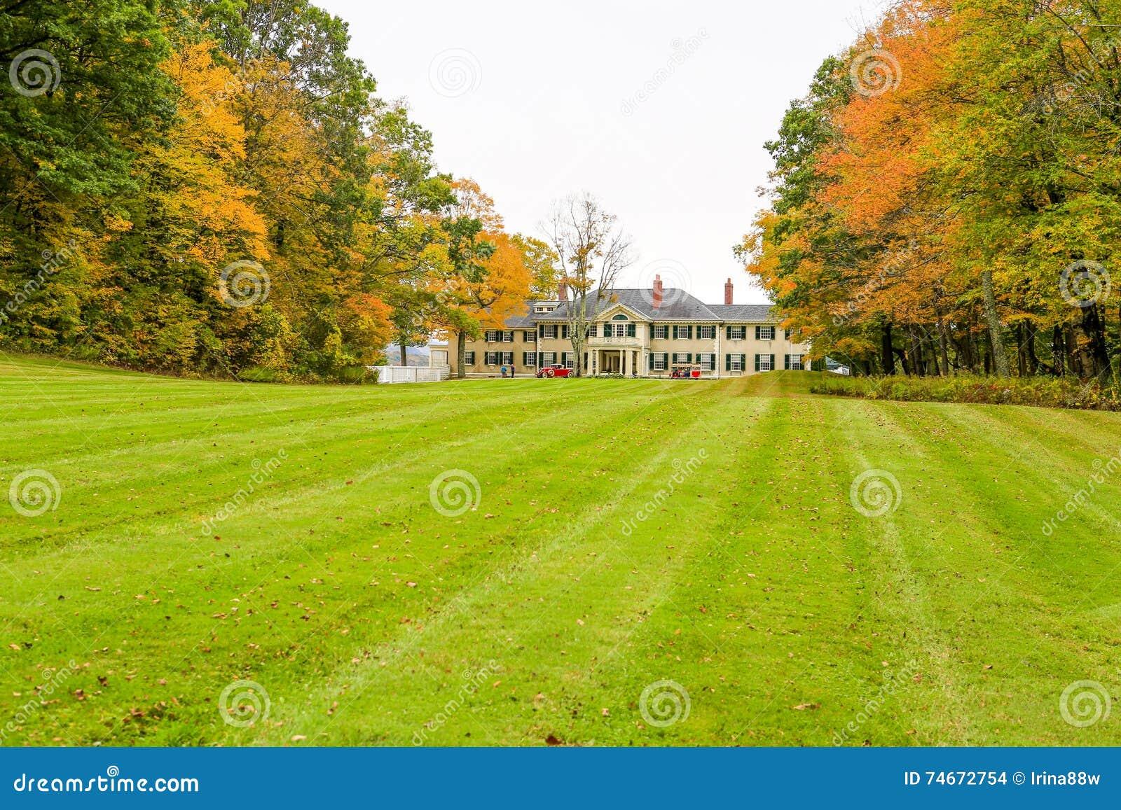 Manchester, Vermont - 3. November 2012: Hildene, Lincoln Family Home