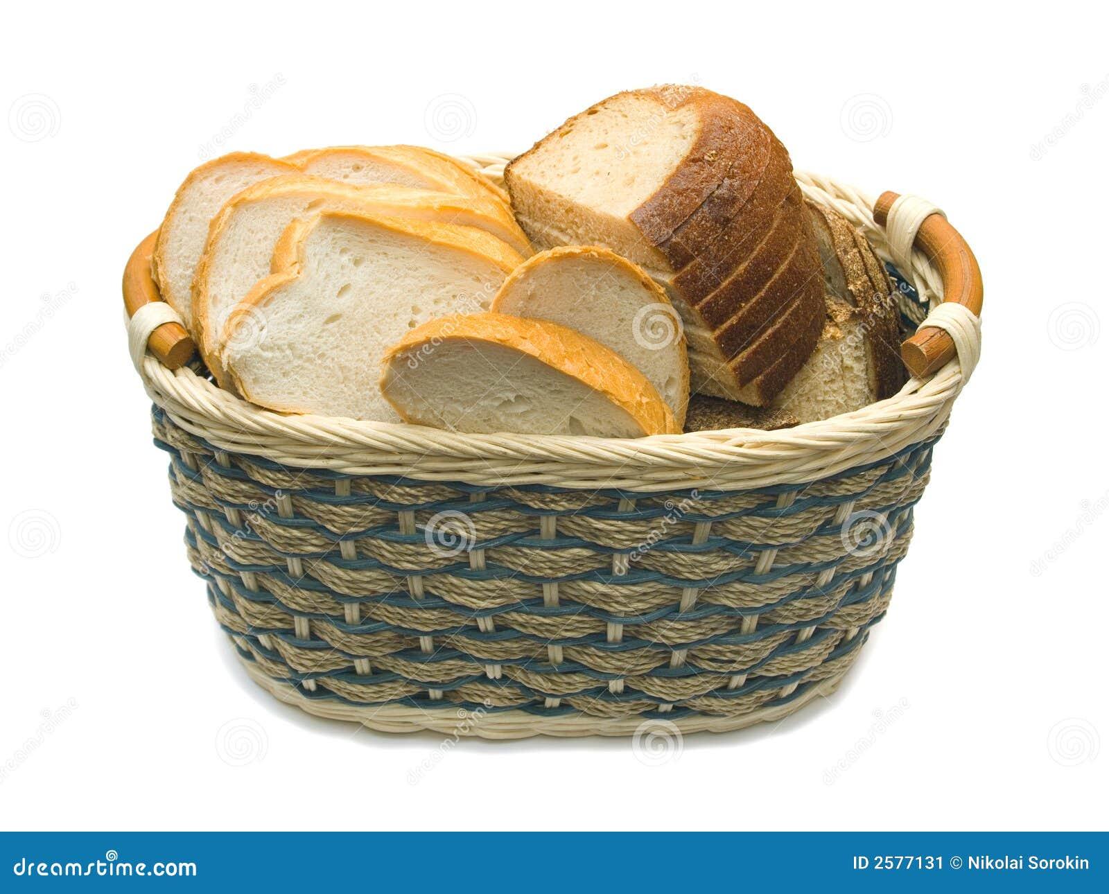 Mand met brood