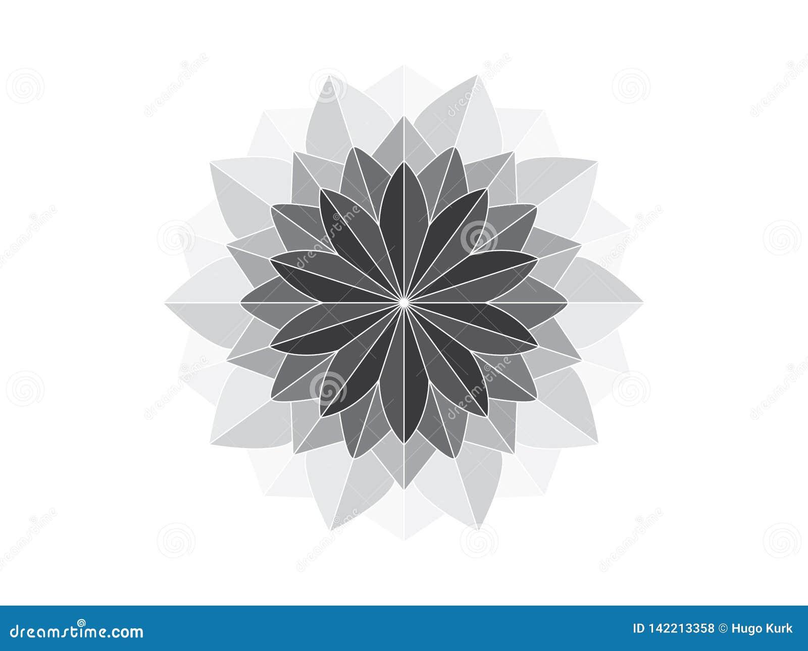Mandala όπως τη γεωμετρική διακόσμηση
