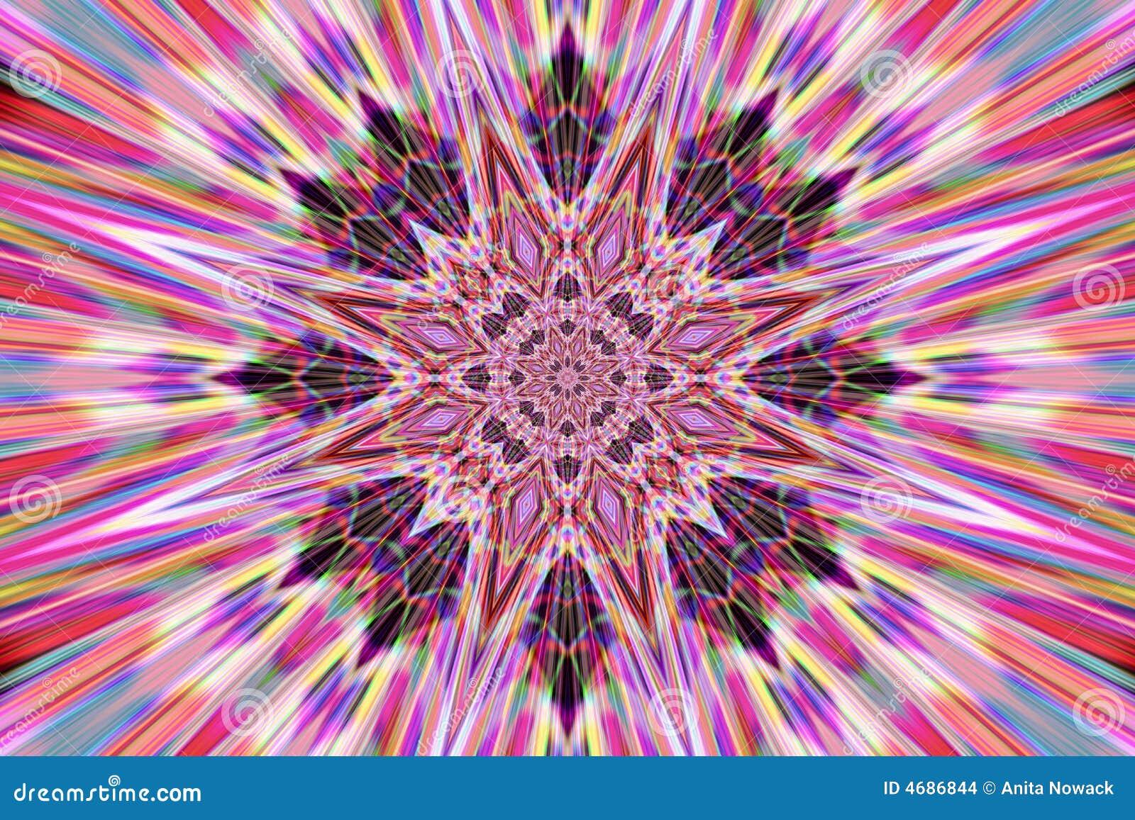Mandala abstrata