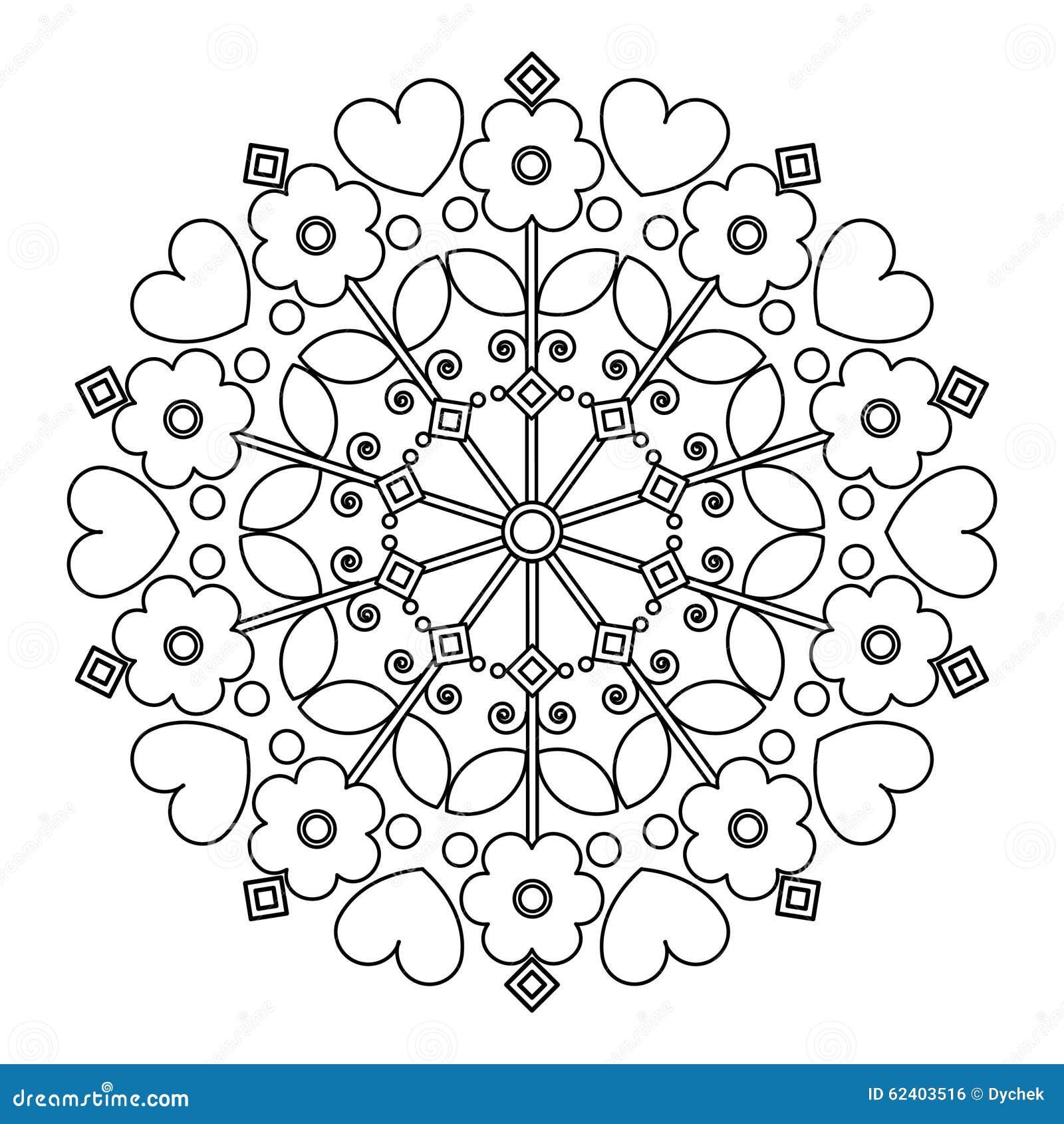 Plus d`images similaires à ` Mandala avec des fleurs pour le ...