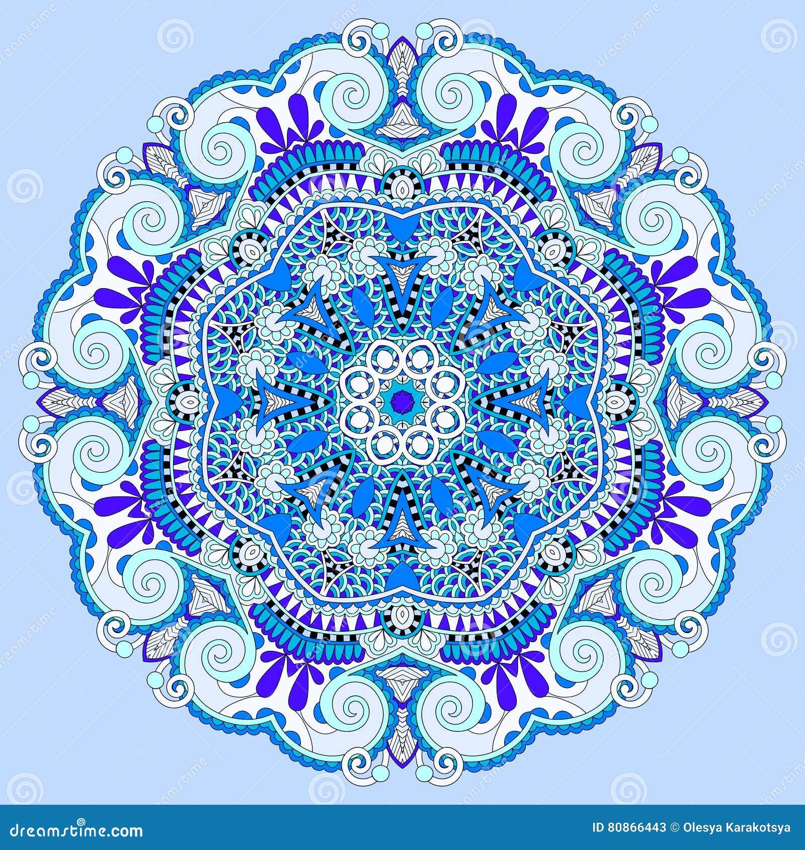 Mandala blue circle decorative spiritual indian symbol of lotus download mandala blue circle decorative spiritual indian symbol of lotus stock vector illustration of mightylinksfo