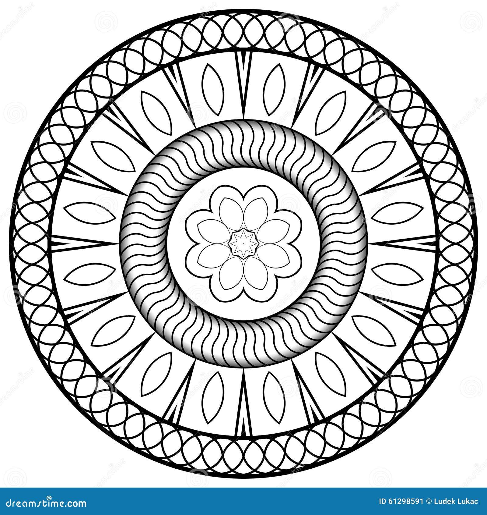 mandala for children stock illustration illustration of