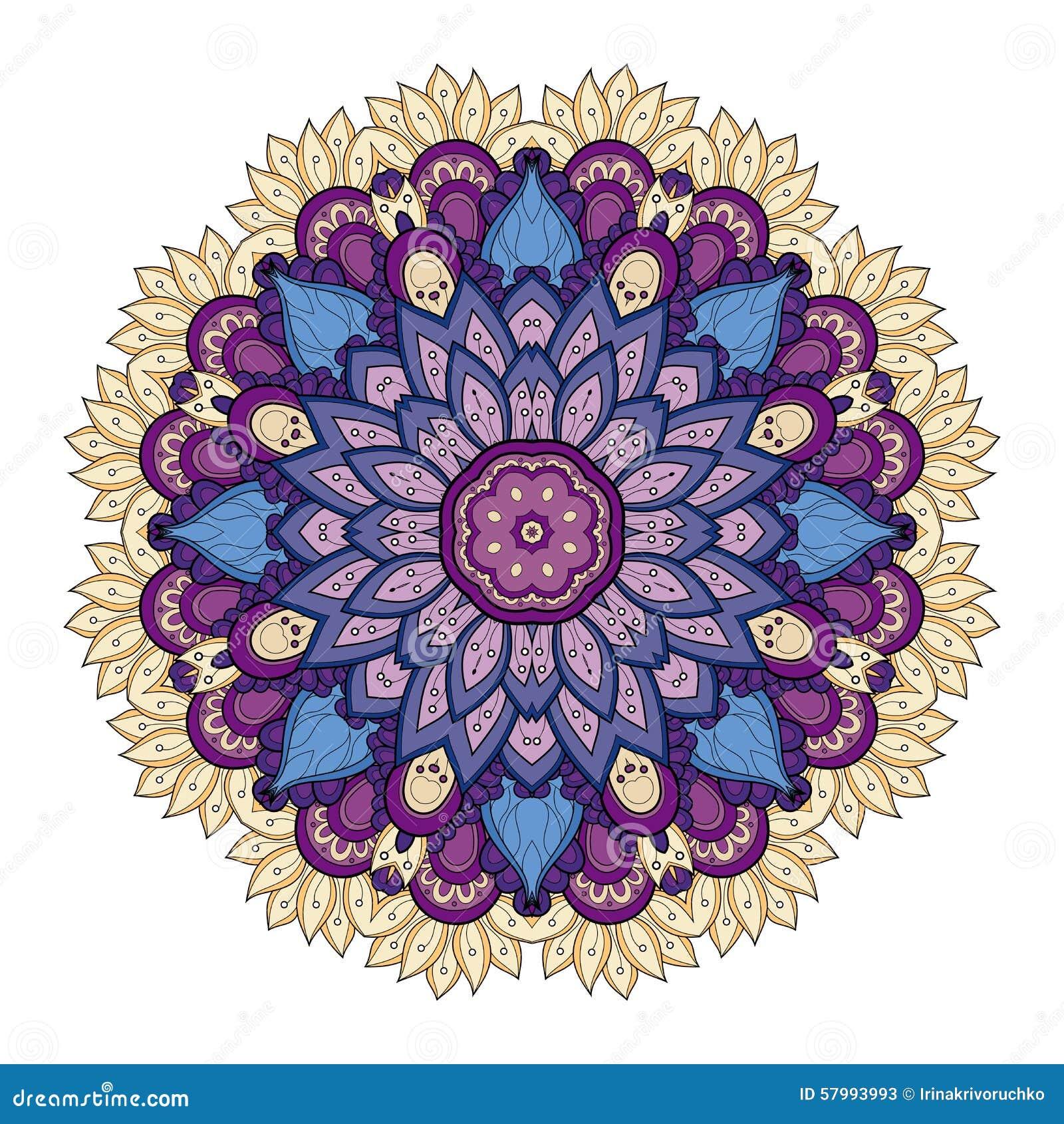 hermoso dibujos de mandalas coloreadas