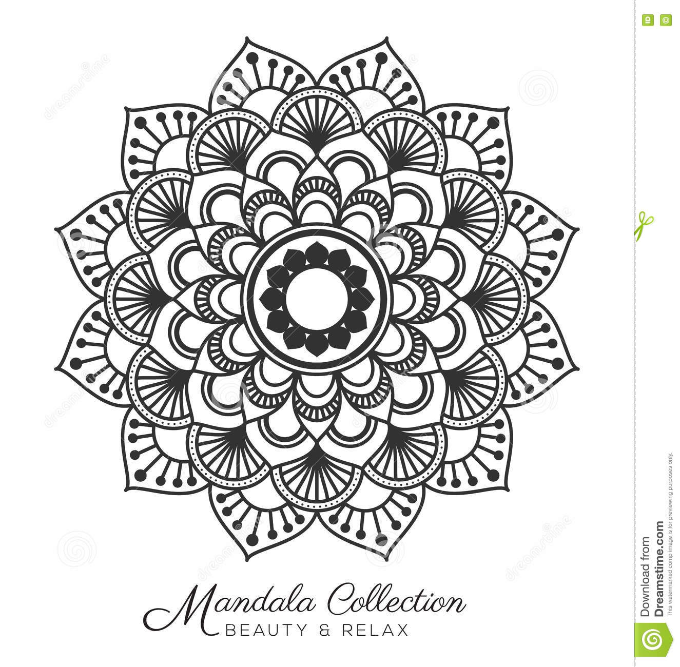 Mandala Design Stock Vector