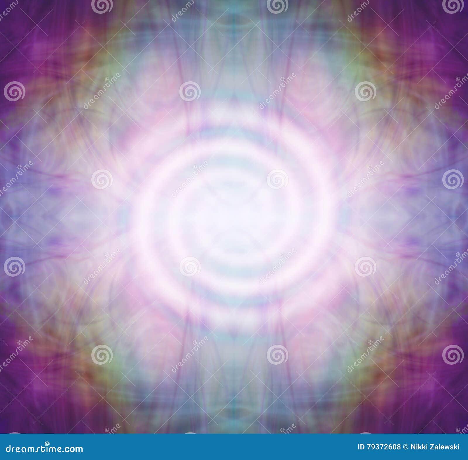 Mandala espiral da meditação