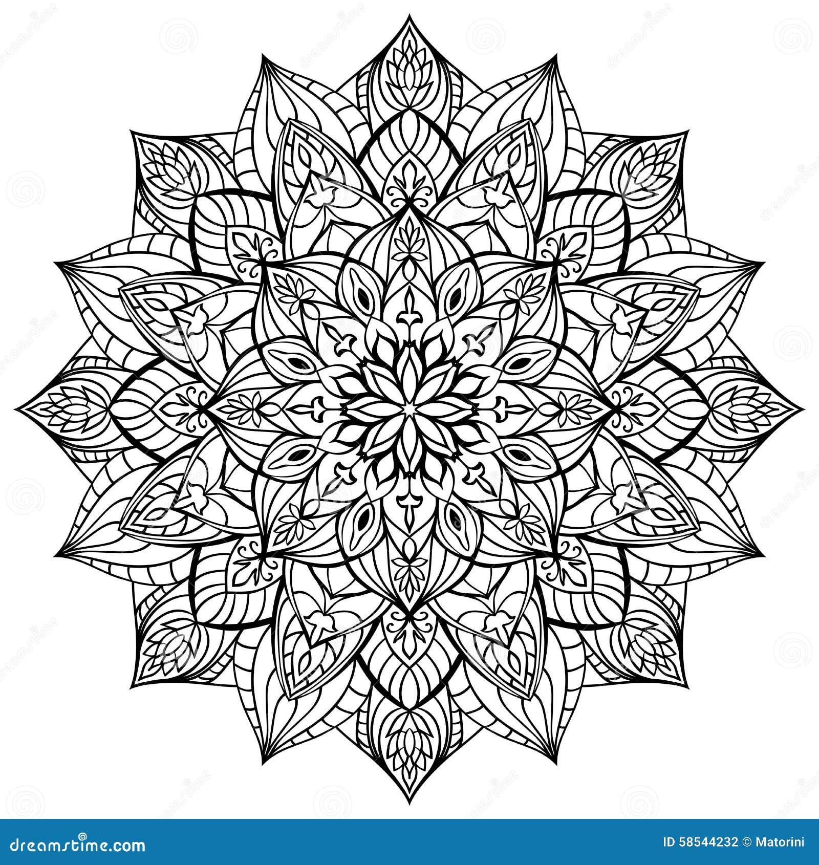 Mandala Gomtrique Illustration De Vecteur