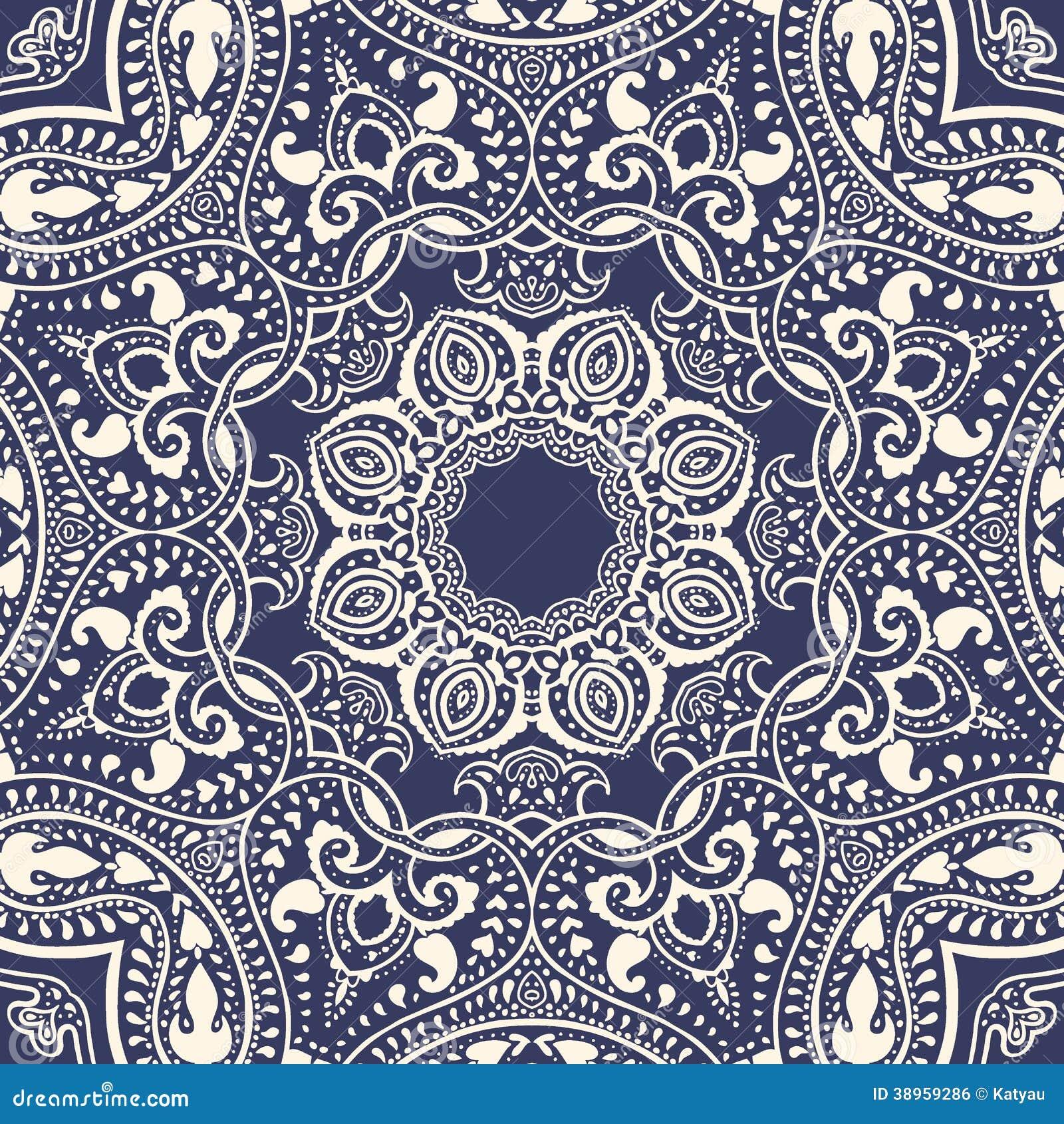mandala indisches dekoratives muster stock abbildung bild 38959286. Black Bedroom Furniture Sets. Home Design Ideas