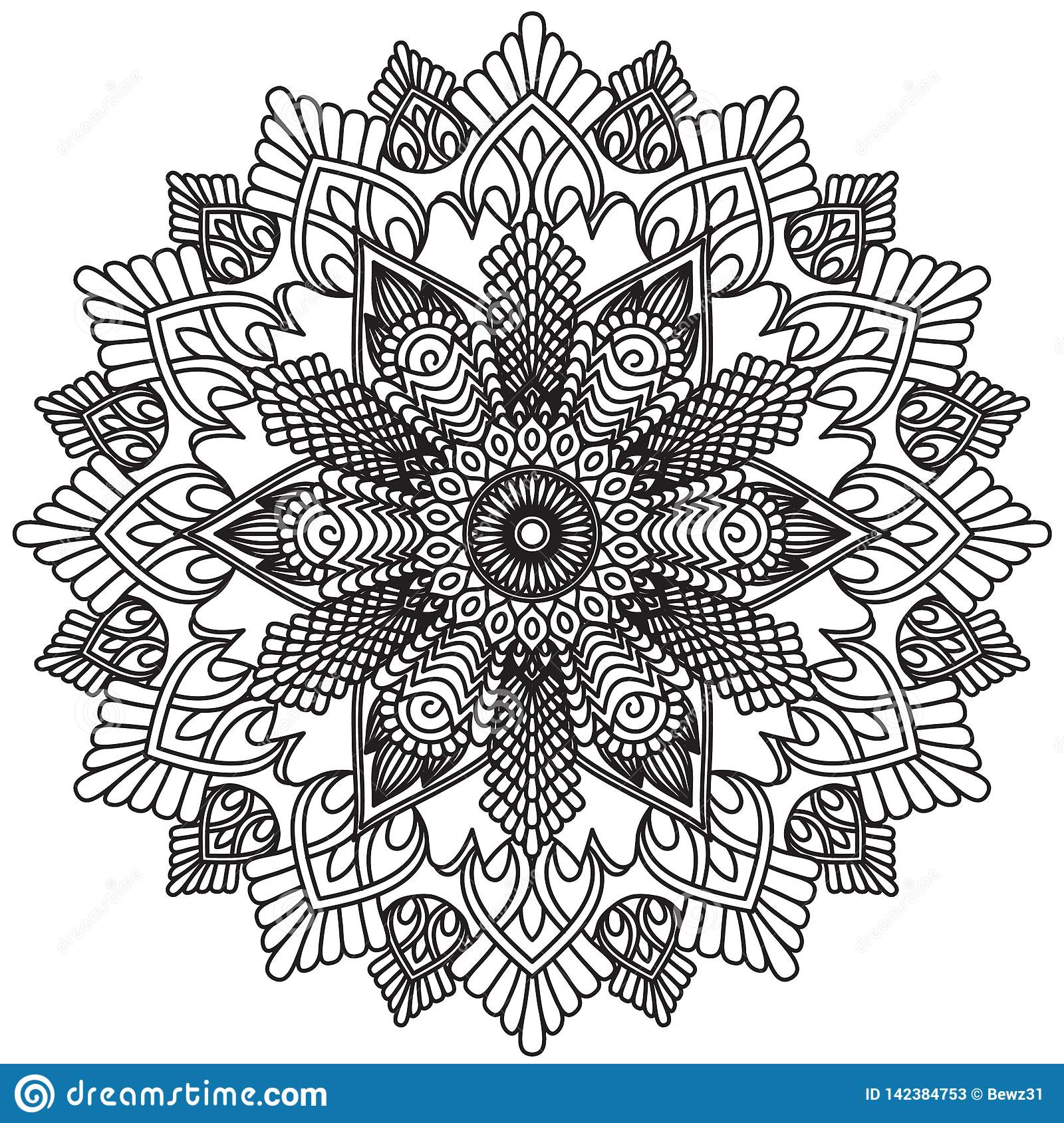 213c9ed581eaa Vintage decorative pattern.Hand drawn background.Suitable for printing on  fabric and paper. Arabic, Islam,Indian, ottoman motifs.You can change the  ...