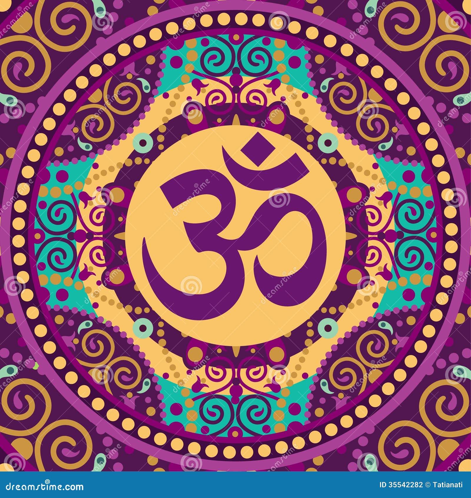 Mandala Ohm Stock Photography Image 35542282