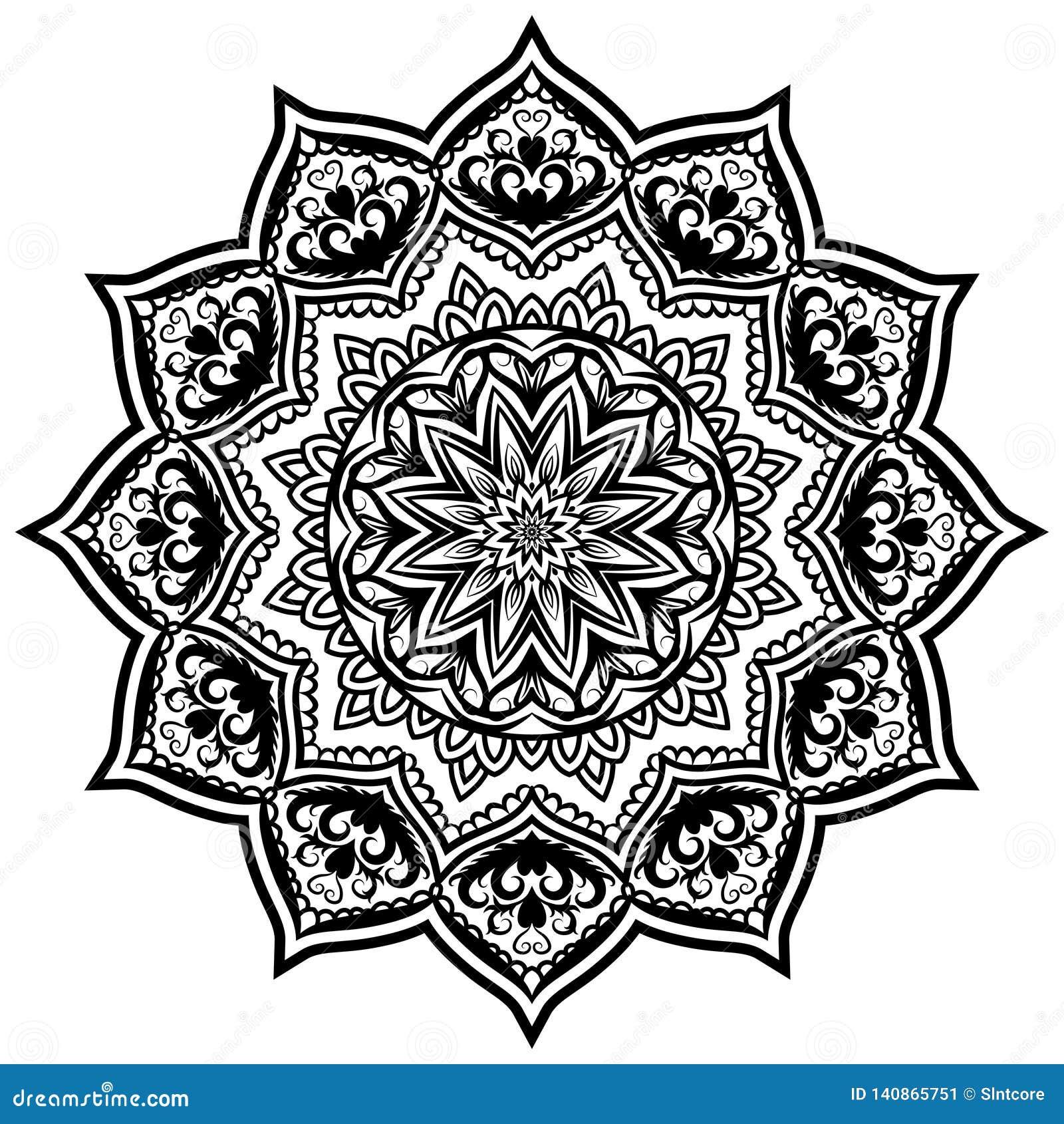 Mandala Pattern Lace 05