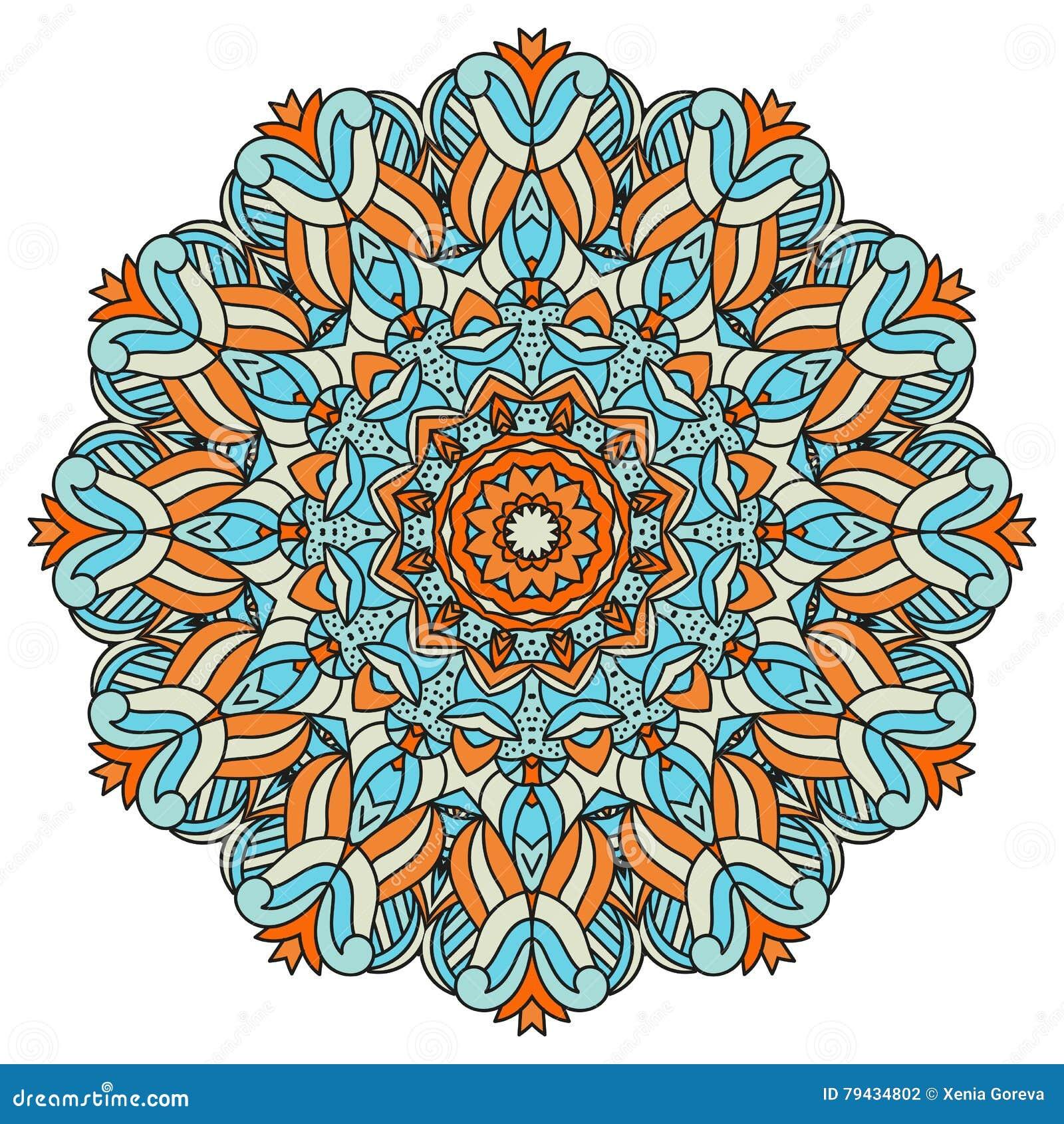 Mandala per arte l 39 adulto ed il libro da colorare dei for Zentangle per bambini