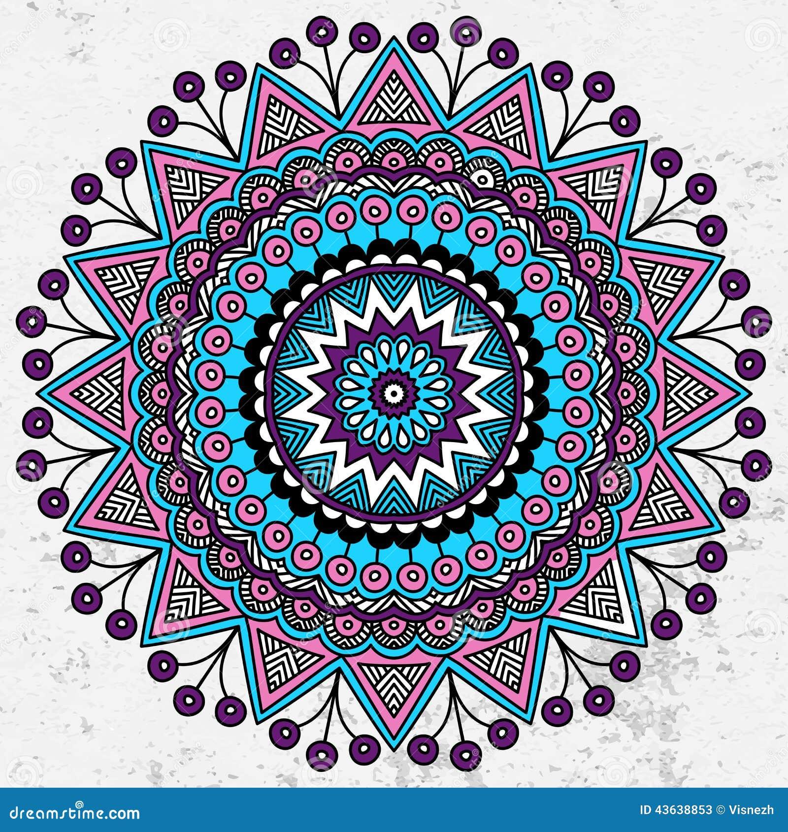 Mandala stock vector. Illustration of blank, arabic, islam