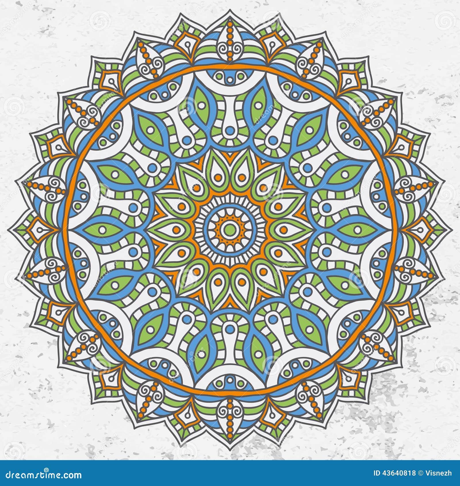 Mandala Stock Vector - Image: 43640818