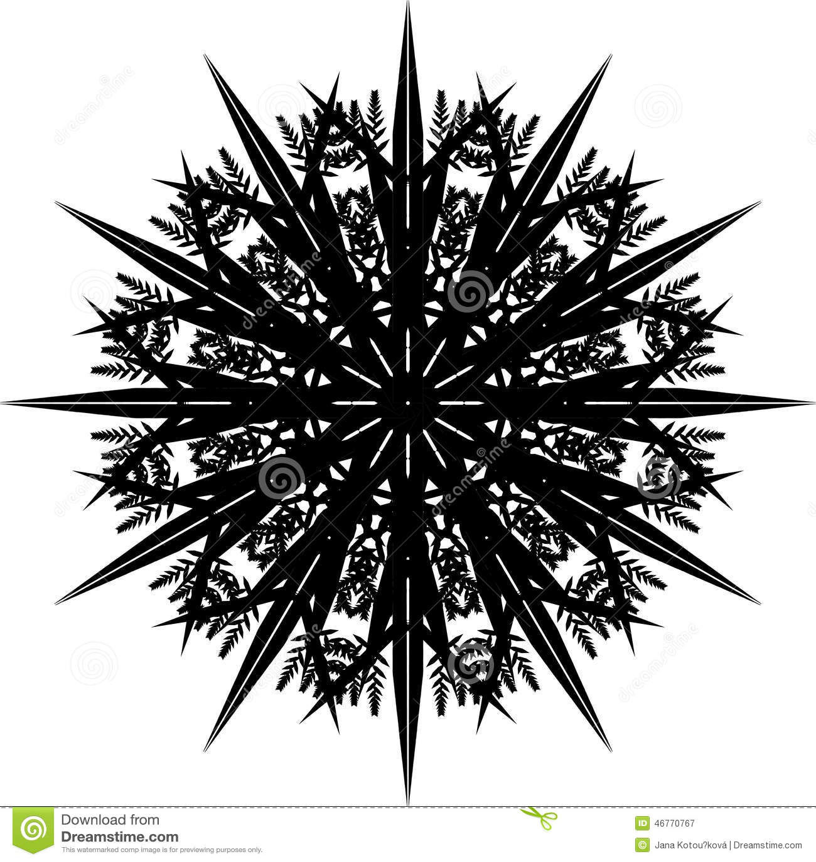 Mandala, Sneeuwvlok II