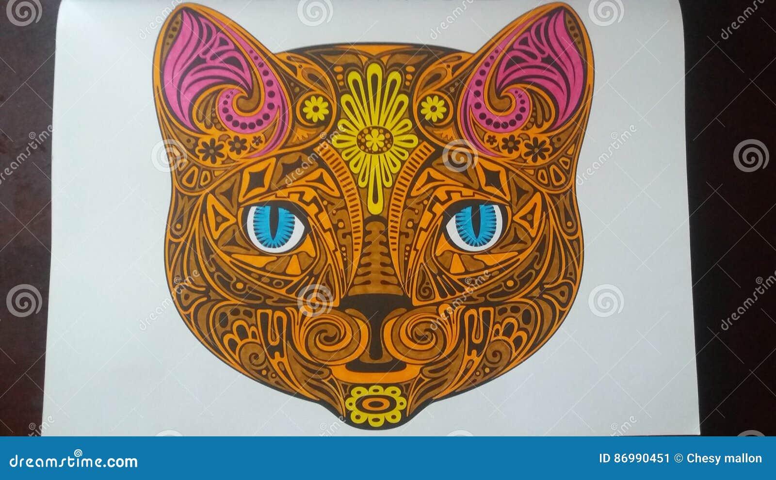 Mandala tiger imagem de stock imagem de mandala tigre - Mandalas de tigres ...
