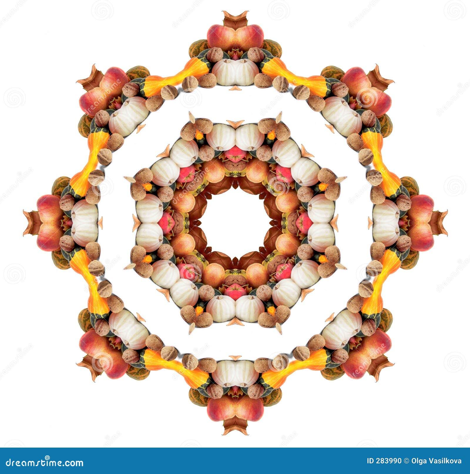 Mandala van de herfst