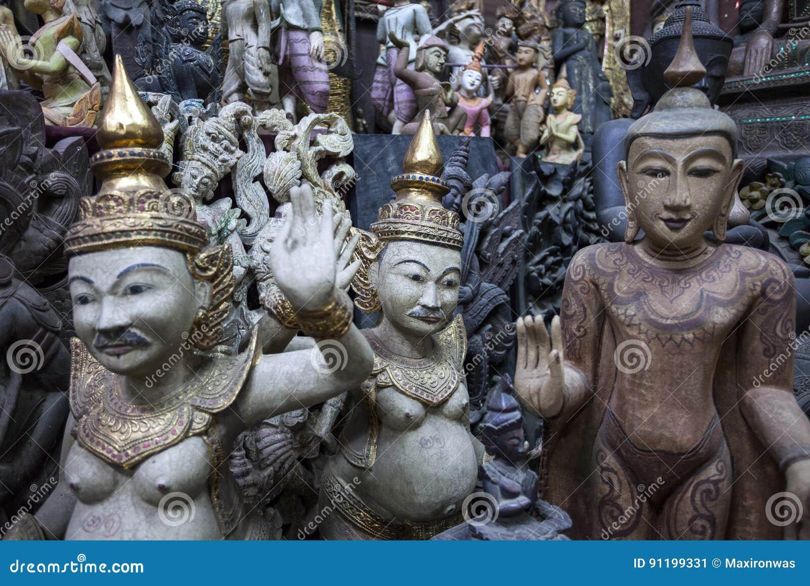 Mandalay - usine de marchandises