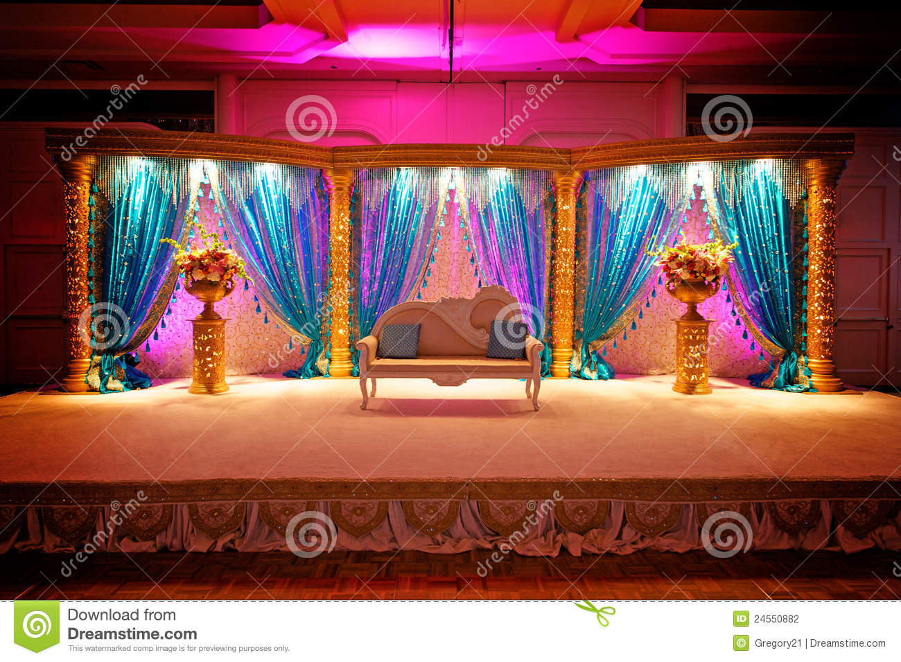 Mandap Wedding indiano