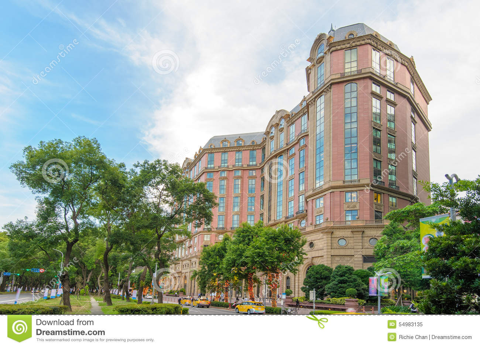 Mandarin Oriental hotell i Taipei, Taiwan