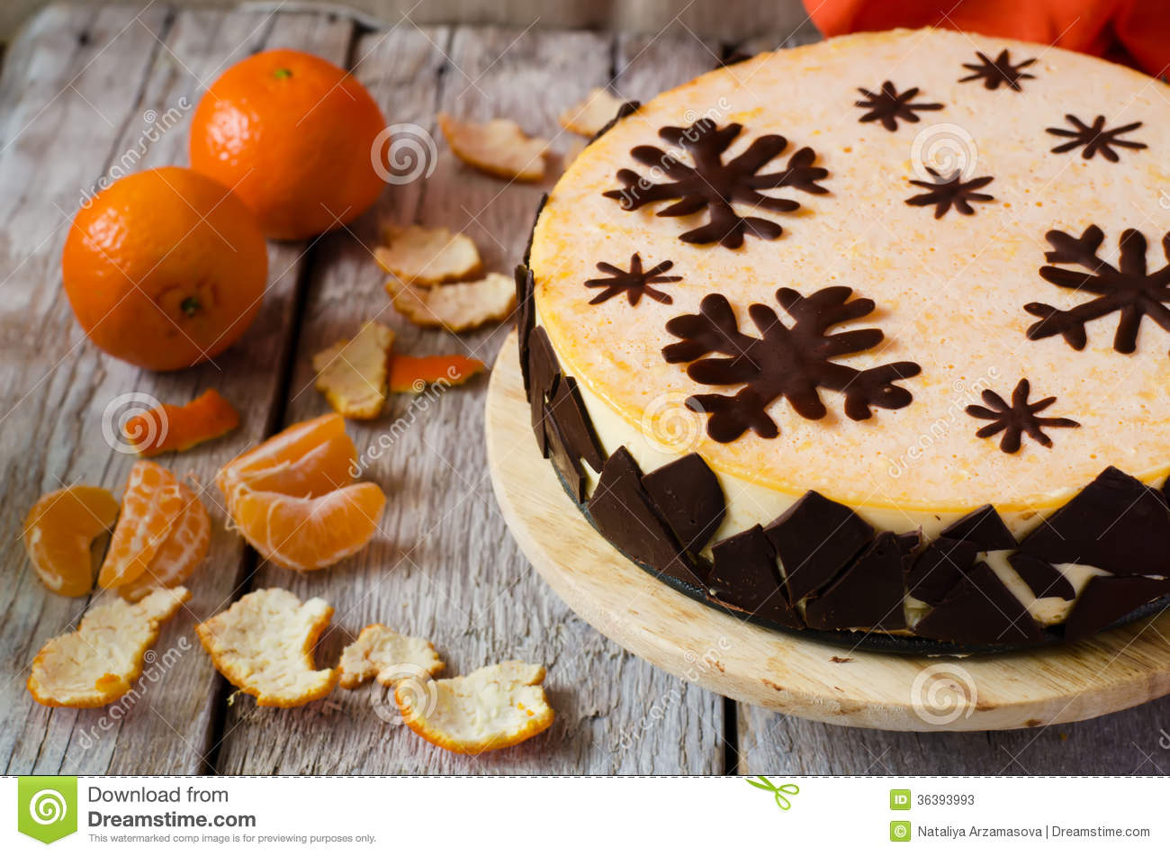 Chocolate And Mandarin Mousse