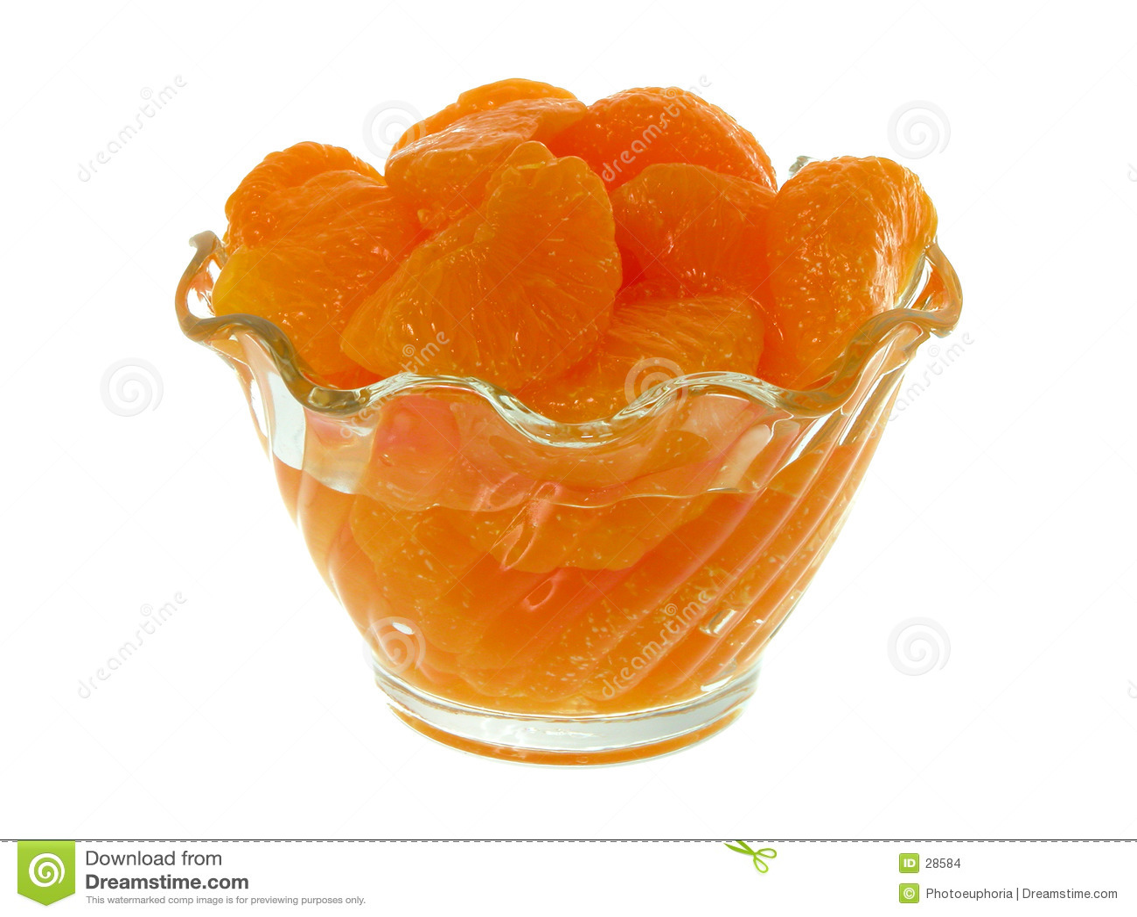 Mandarine-Segmente
