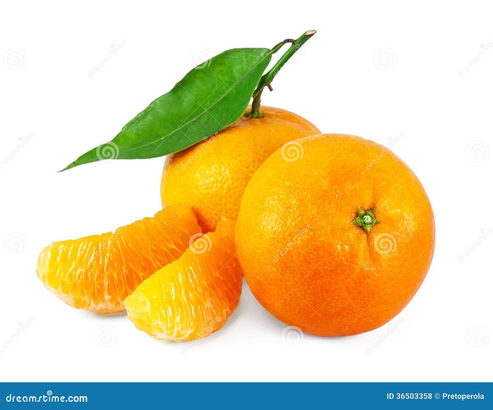 Mandarines juteuses fraîches