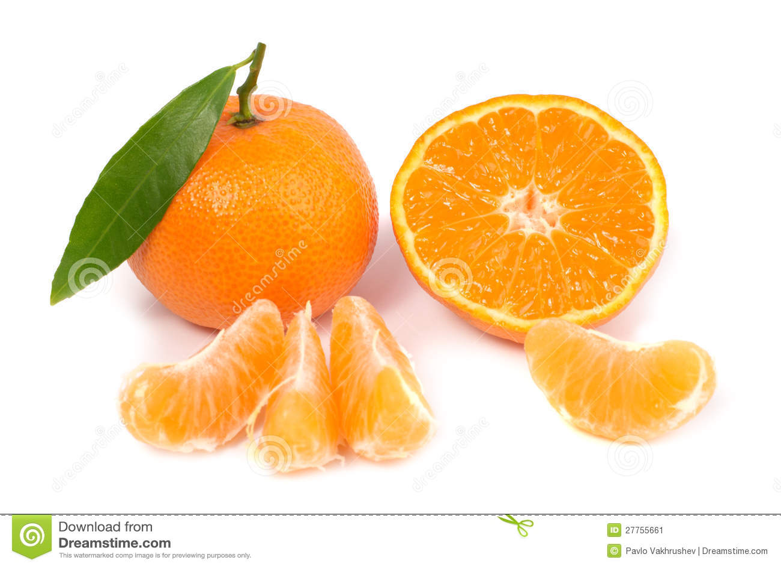 Mandarines oranges