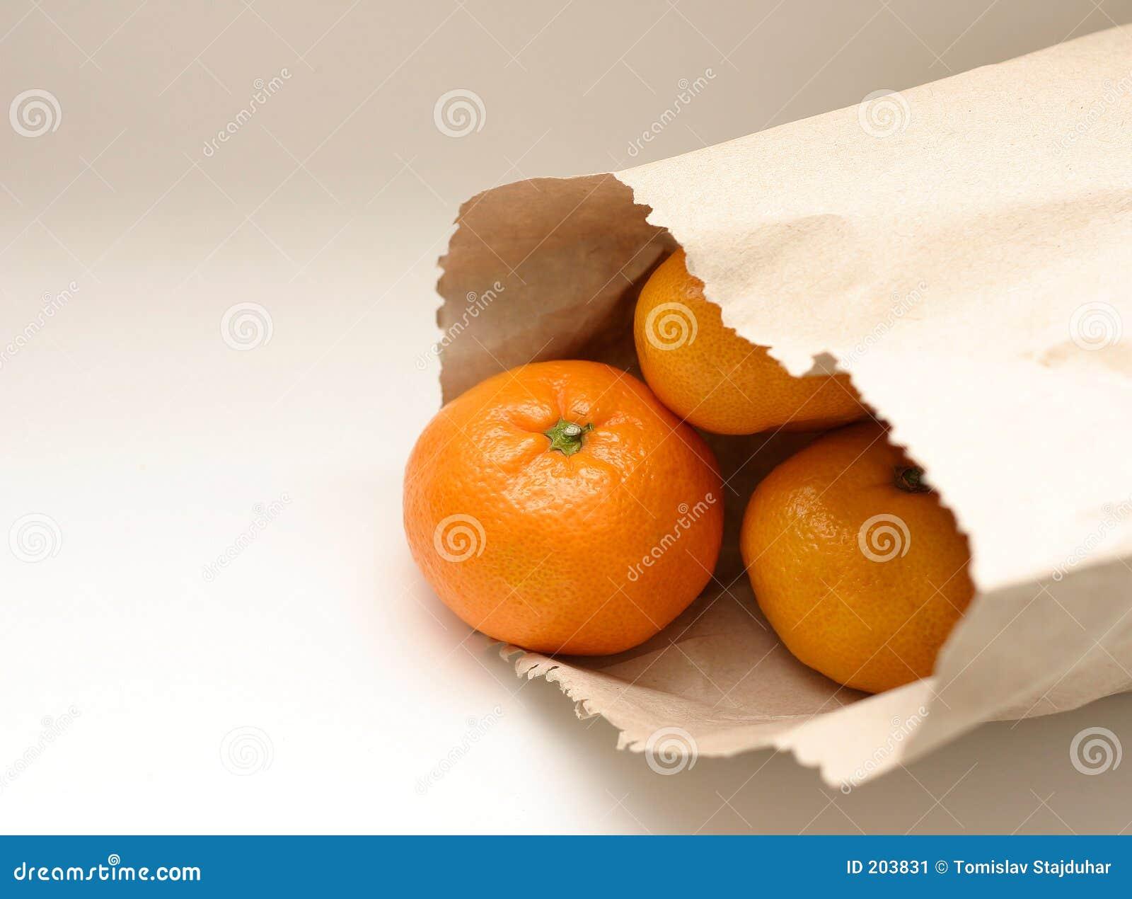 Mandarino in sacchetto