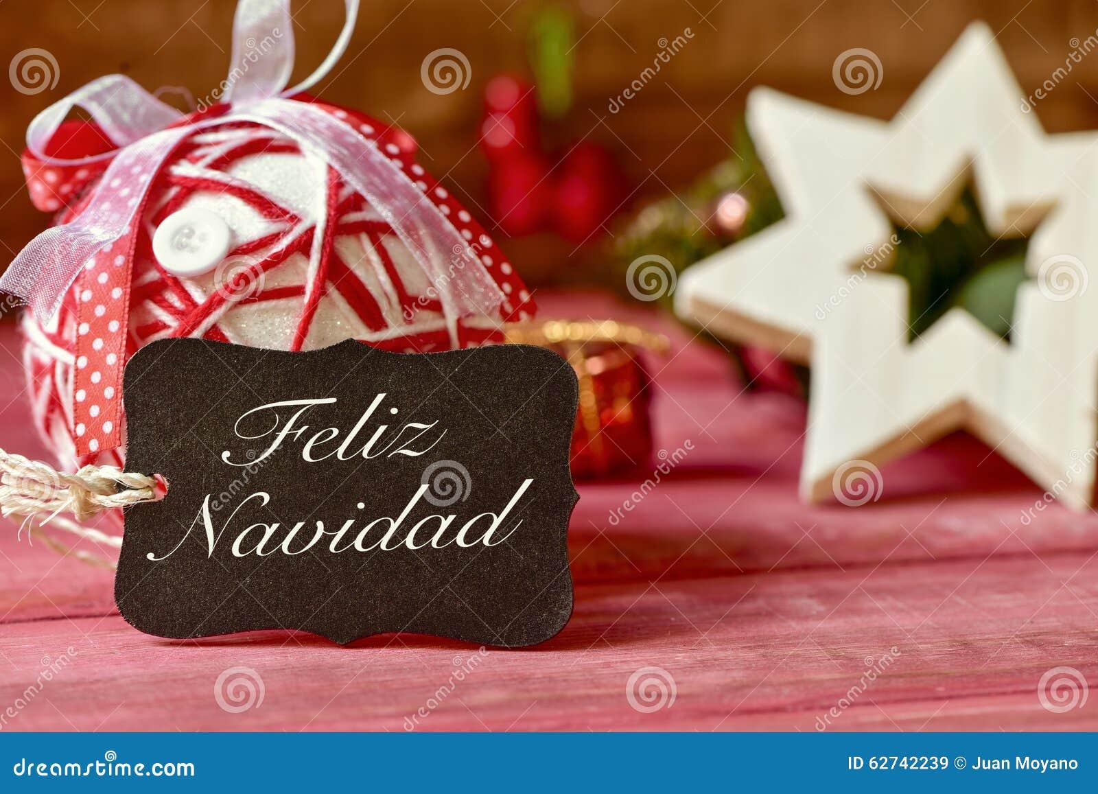 Felicitaciones De Navidad En Castellano.Mande Un Sms Al Navidad Del Feliz Feliz Navidad En Espanol