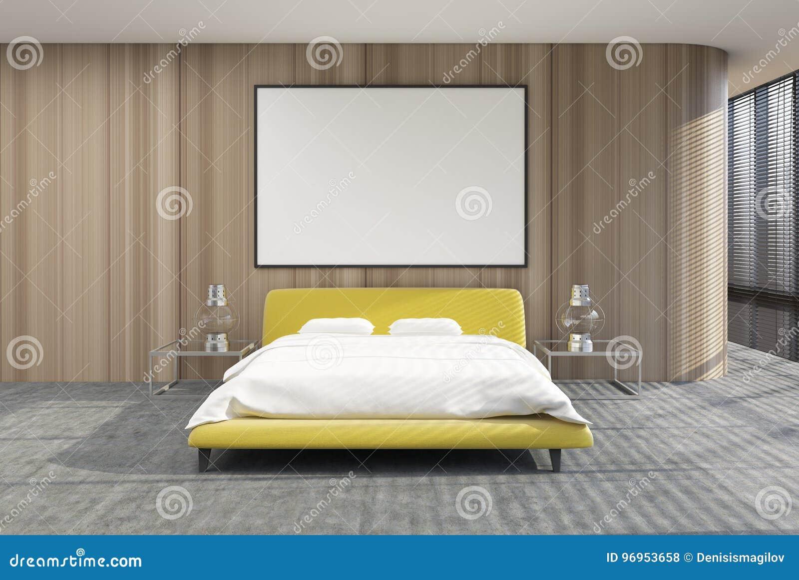 Letto Matrimoniale Giallo : Mandi in aria linterno della camera da letto le tonalità