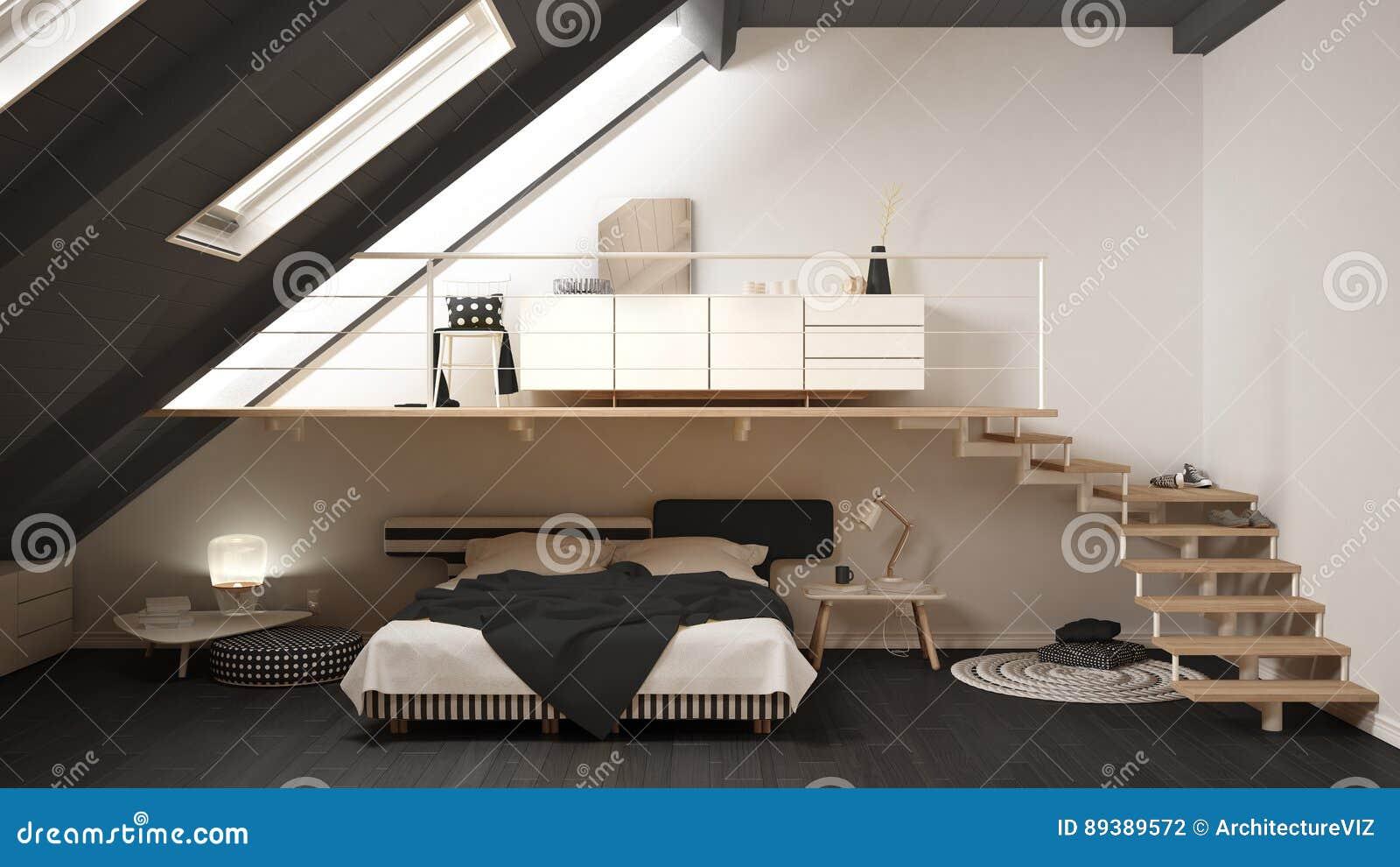 Mandi in aria la c bianca e grigia minimalista scandinava for Camera da letto bianca e grigia