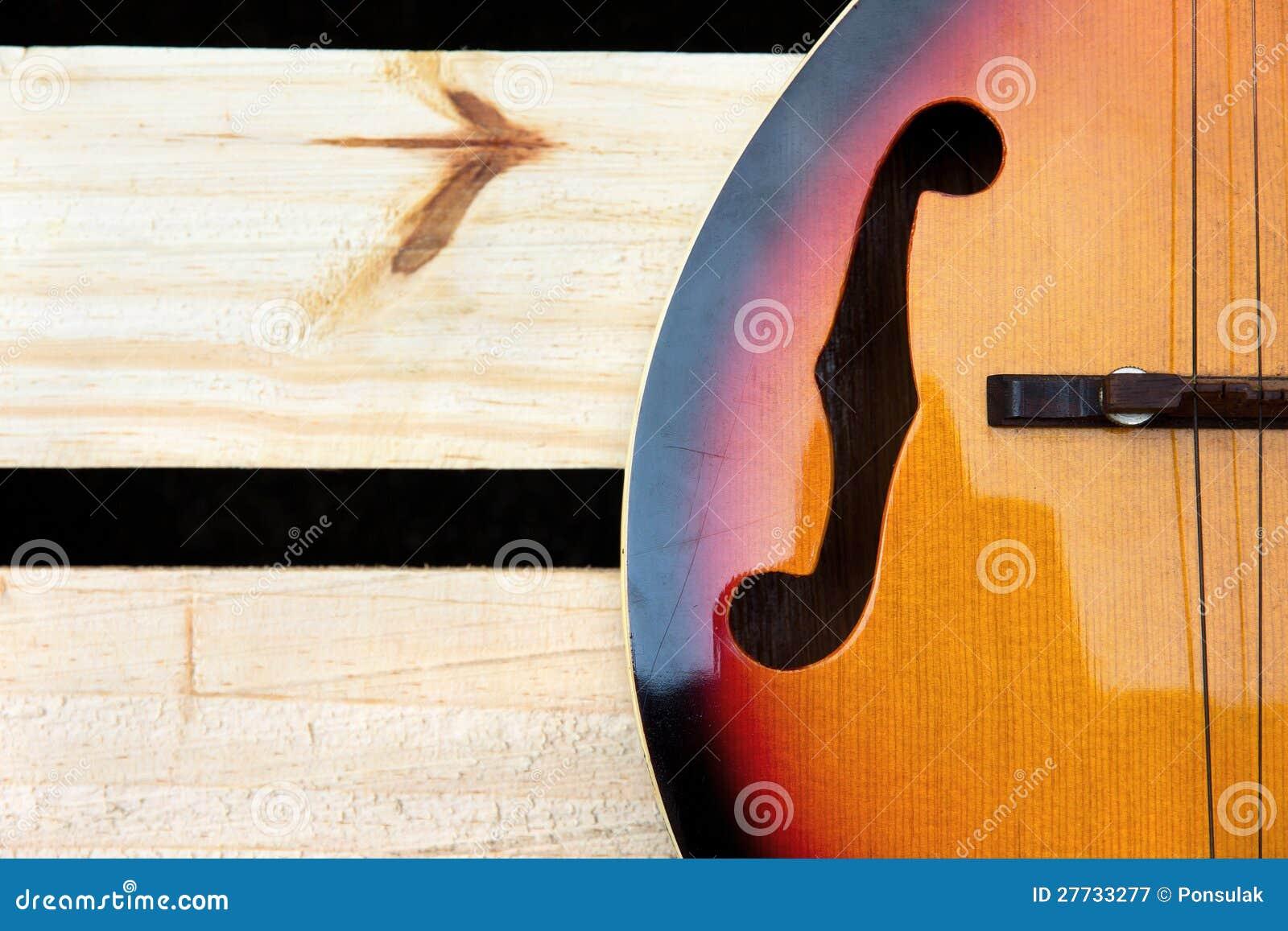 Mandolinehintergrundkonzept