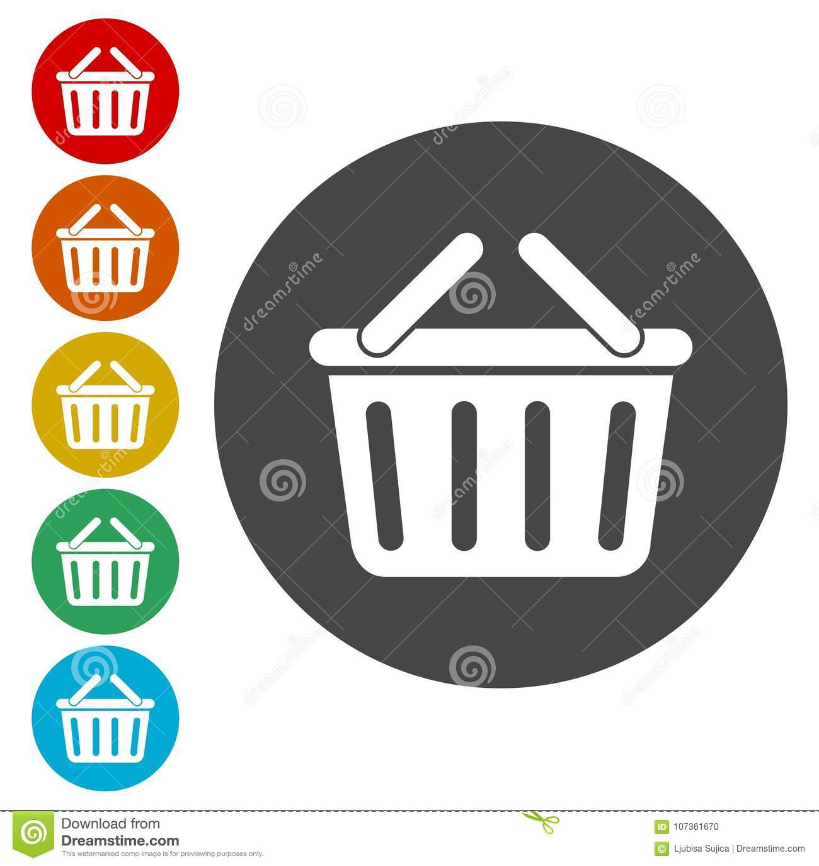 Mandpictogram, Mand het winkelen commercieel pictogram