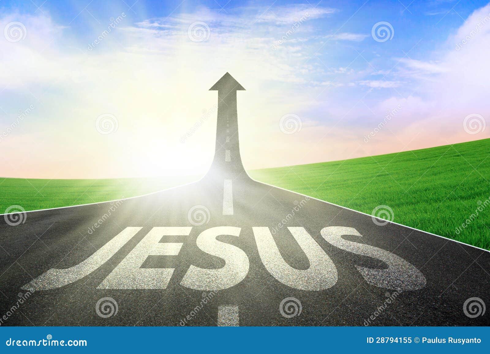 Maneira de estrada a Jesus