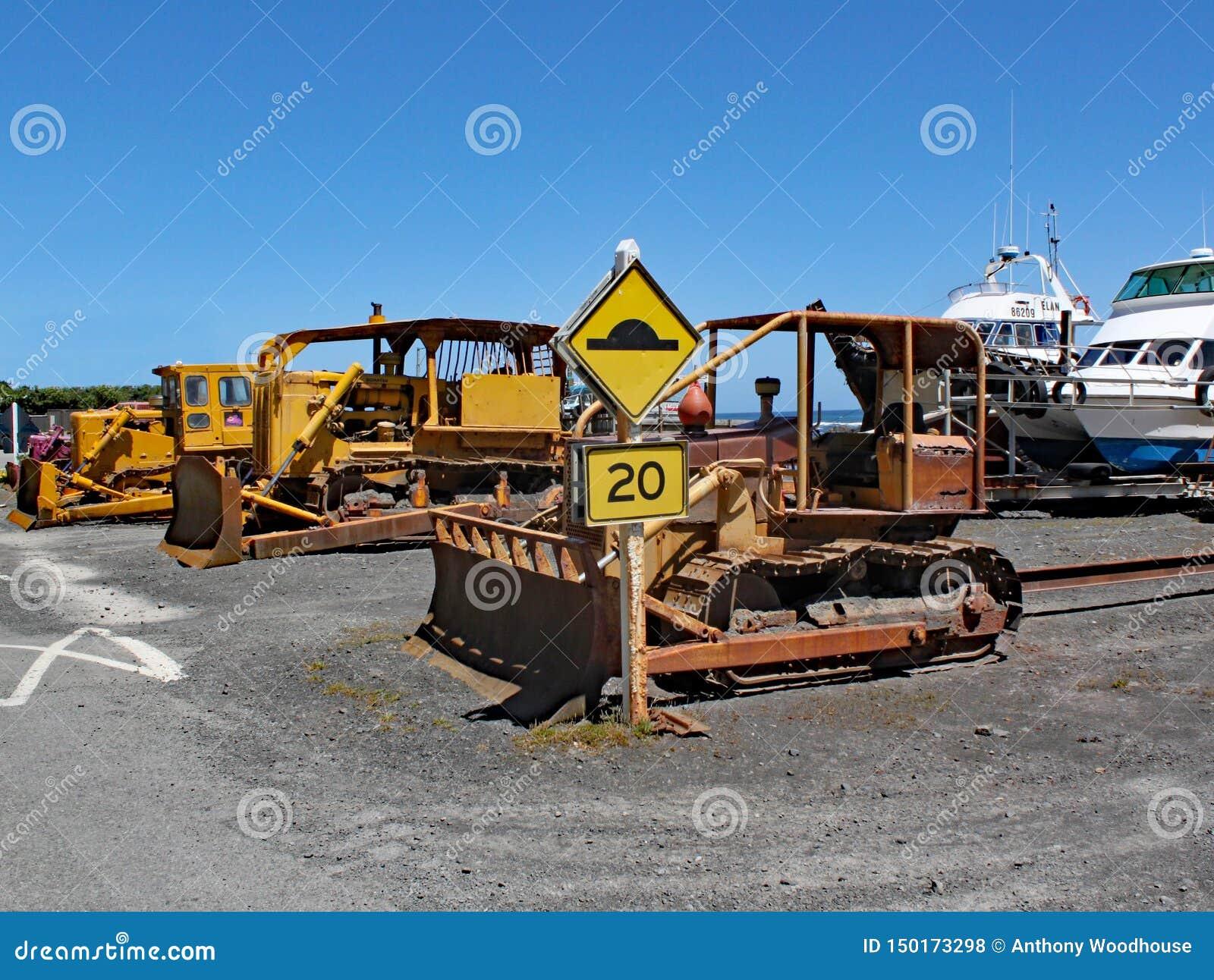 Maneira sutil de Nova Zelândia de puxar barcos fora da água Este é para a venda