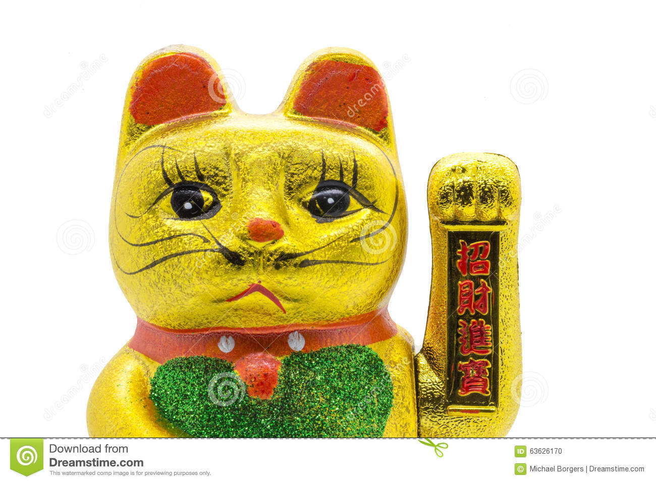 Not very asian prosperity cat everything