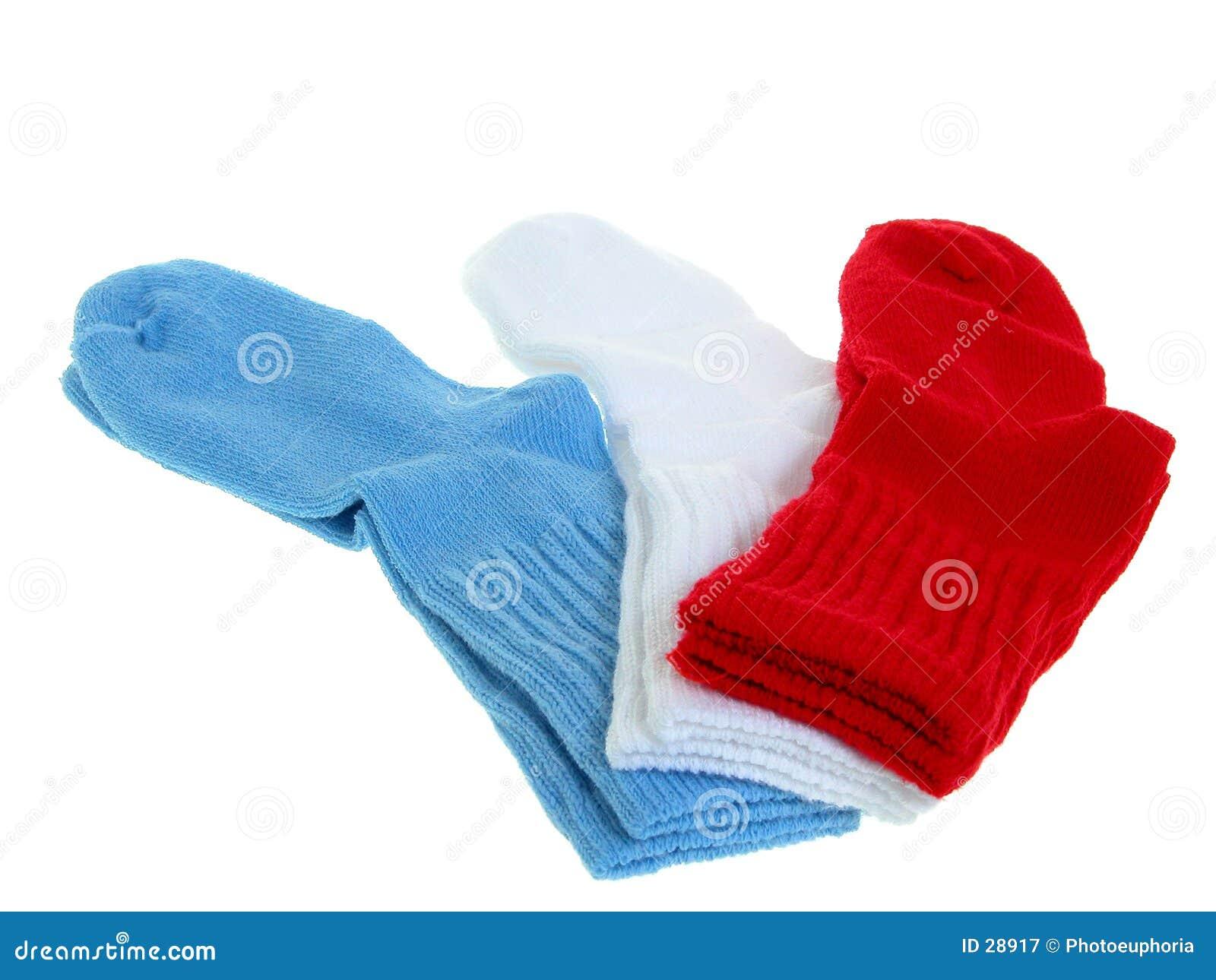 Download Manera: Calcetines Del Niño Imagen de archivo - Imagen de calcetín, azul: 28917