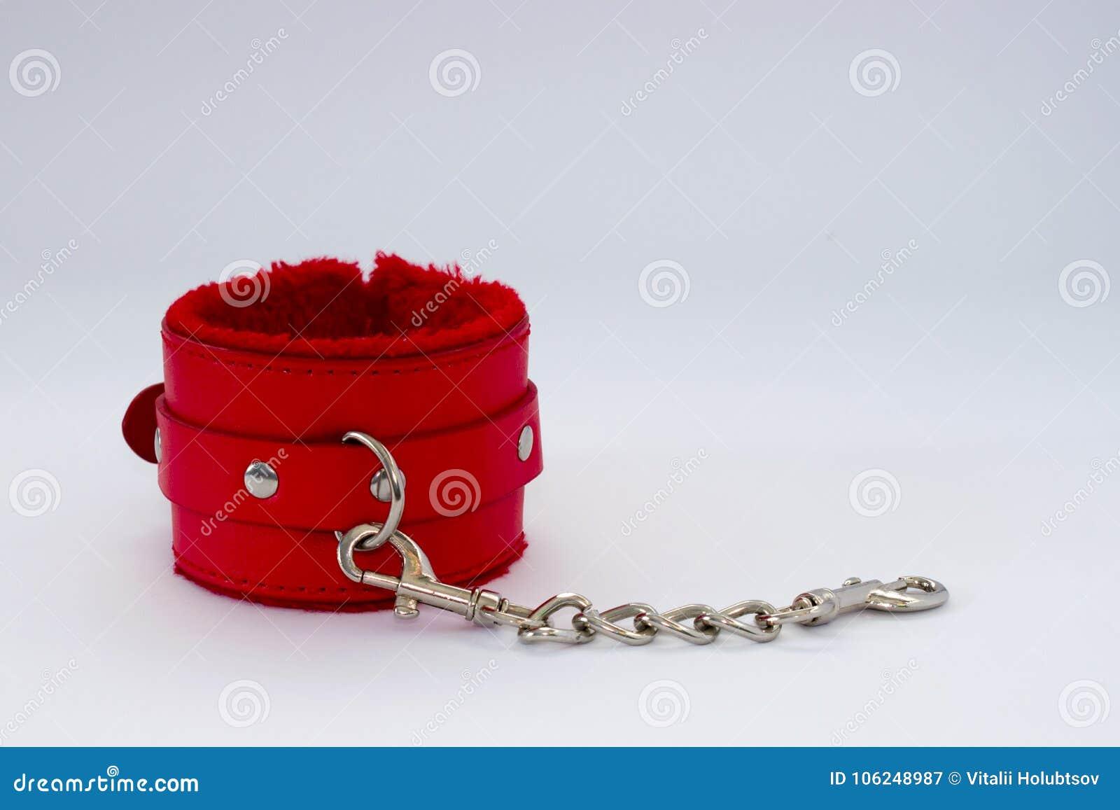 Manette erotiche dei giochi del sesso di sadomasochismo di schiavitù per il sesso