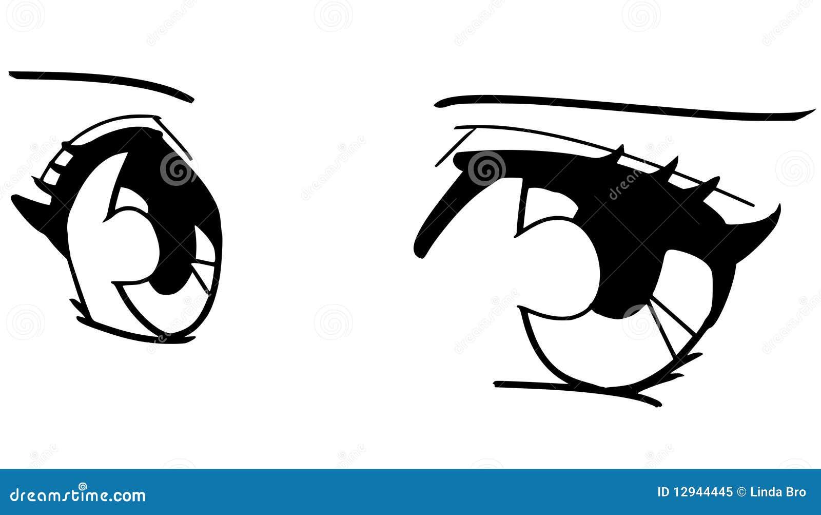 manga ögon