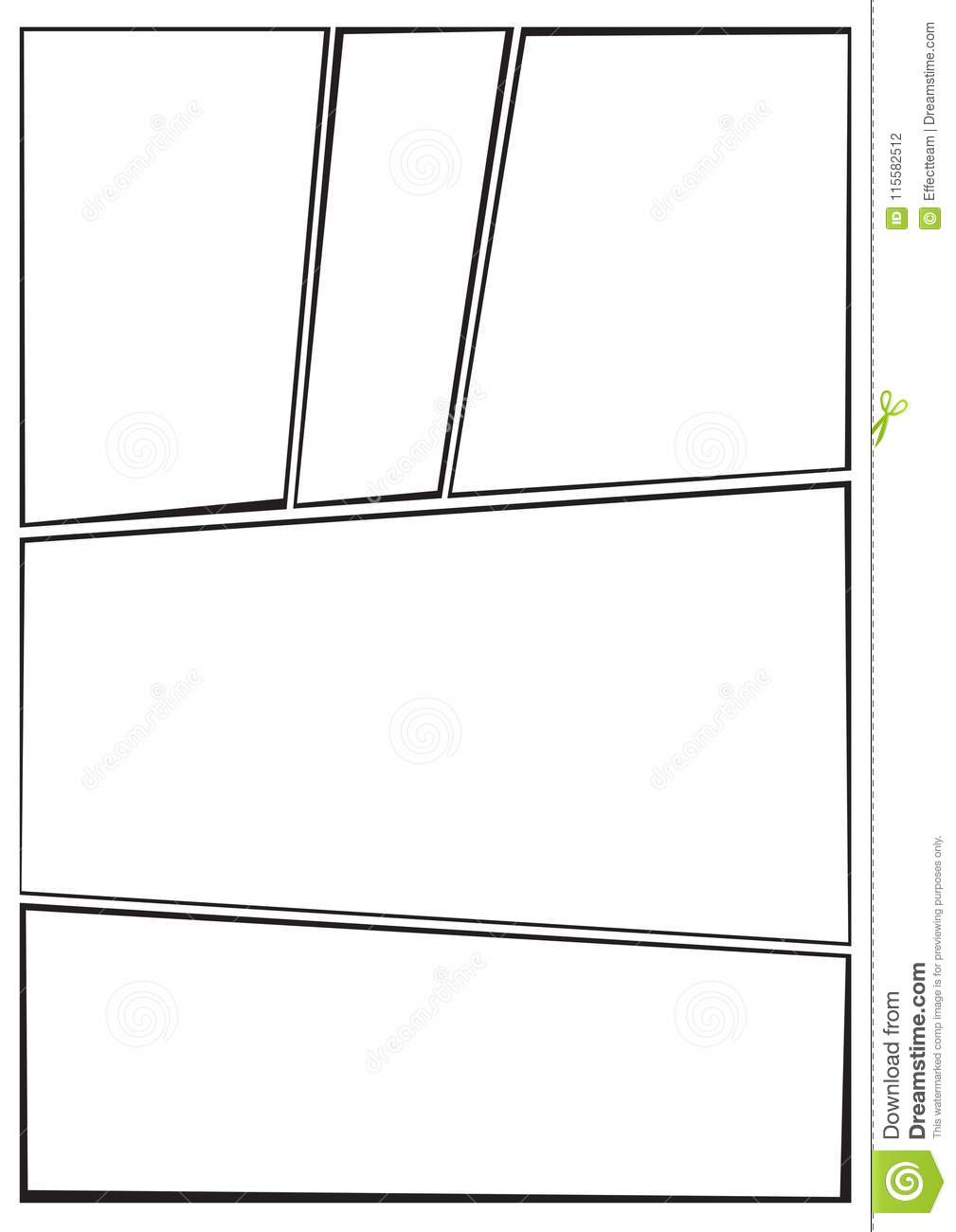 Manga drawing template image collections template design for Free antennas com projects template