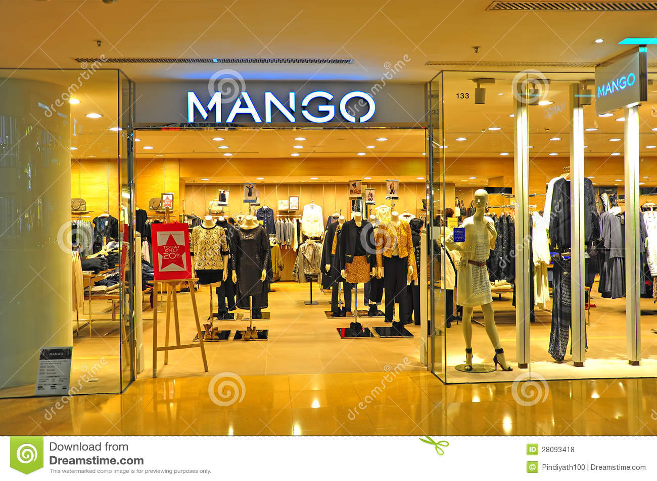 Women's Designer Outlet Clothing Stores Mango apparel store hong kong