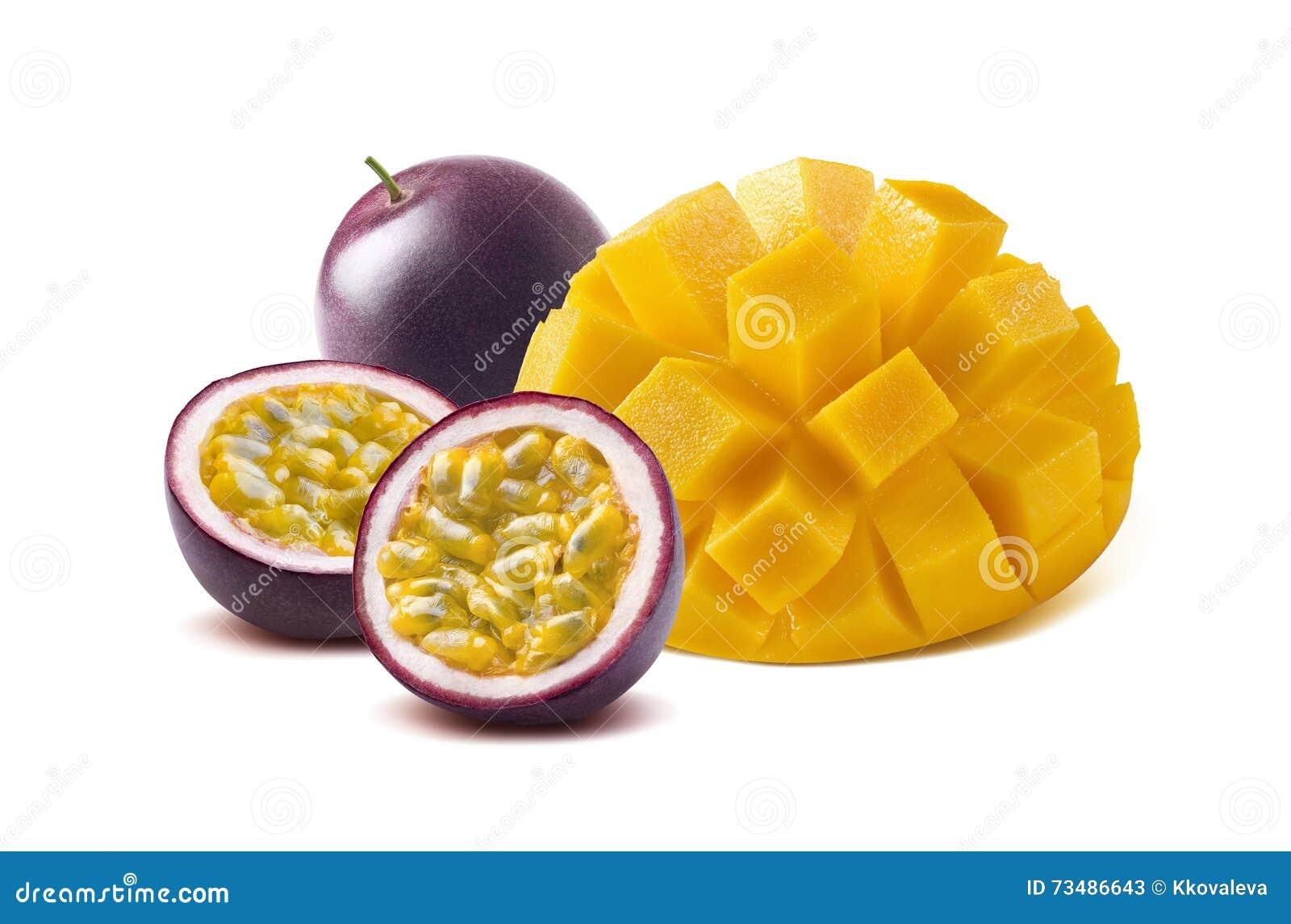Mango Cut Stock Photos Image: 31308673