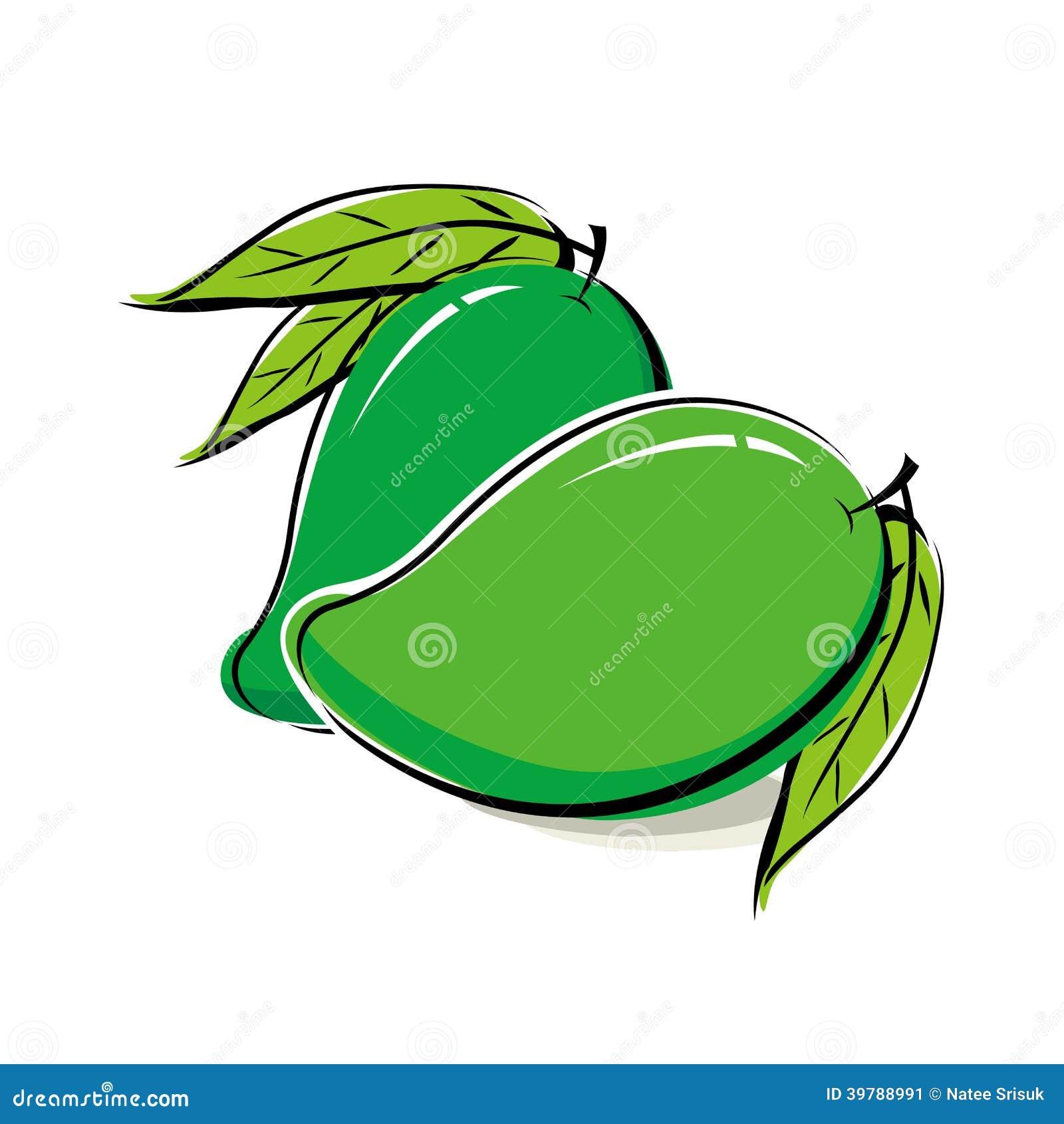 Mango Design Stock Vector Image 39788991